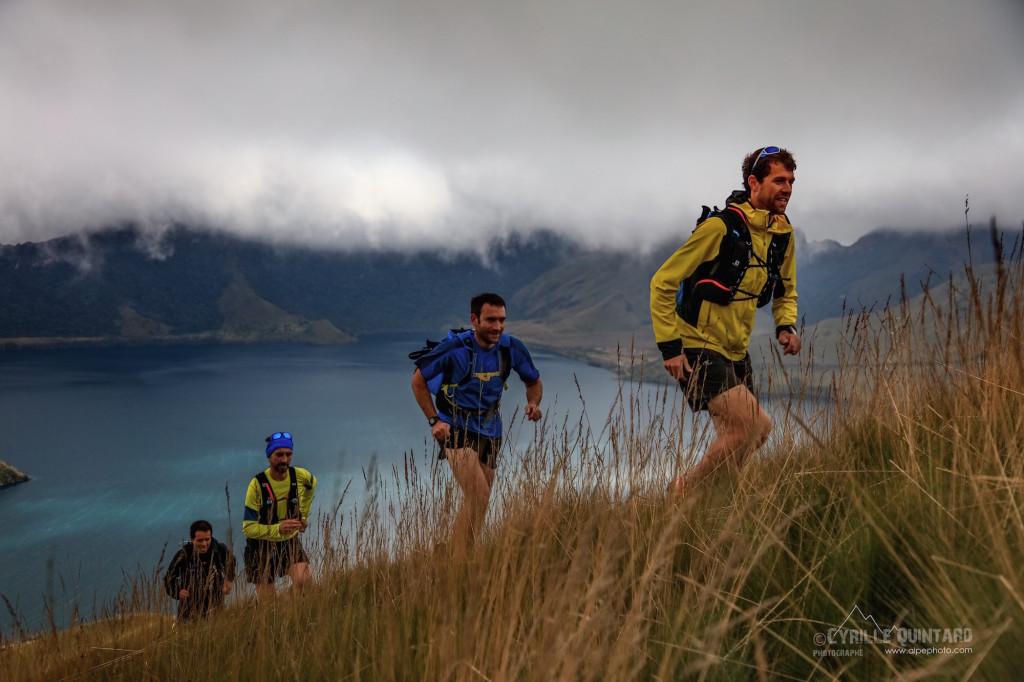 4 François D'Haene en Équateur photo Cyrille Quintard