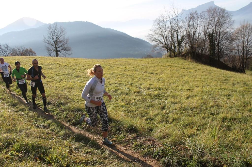 Dorine Paiaget 3ème du 11km 1024x682 - RESULTATS, COMPTE RENDU ET PHOTOS DE LA SANGE'RUN (reportage « TPS Infos » d'Alexandre Garin) / 15-11-15