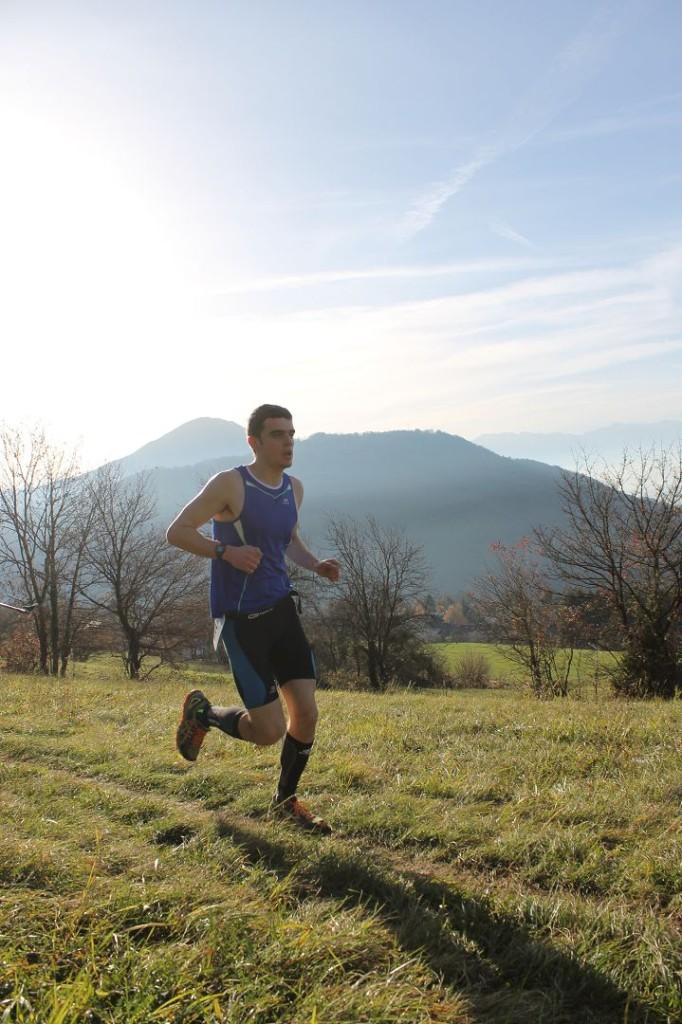 Luc Saillet 2ème du 11km 682x1024 - RESULTATS, COMPTE RENDU ET PHOTOS DE LA SANGE'RUN (reportage « TPS Infos » d'Alexandre Garin) / 15-11-15