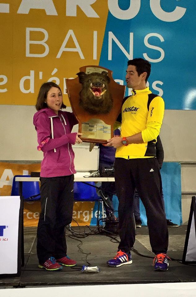 12565537 986242711413758 5717276917639600085 n - Tony Moulai et Céline Lafaye remportent le Trail des Sangliers , étape du TTN 2016 de trail court
