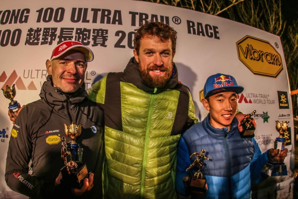 5 Le podium 2016 HK 100 Philipp Reiter pour Salomon Running