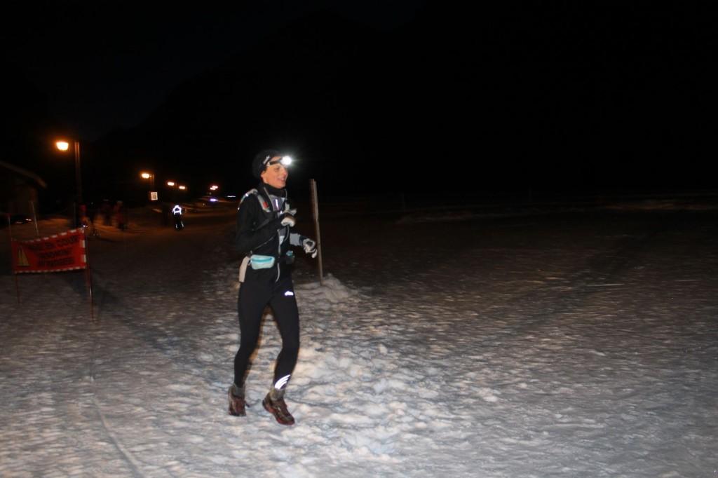 Aurélie Caucal 2ème du 15km 1024x682 - TRAIL DE l'INUIT 2016 à Pralognan la Vanoise : Résultats et compte rendu.