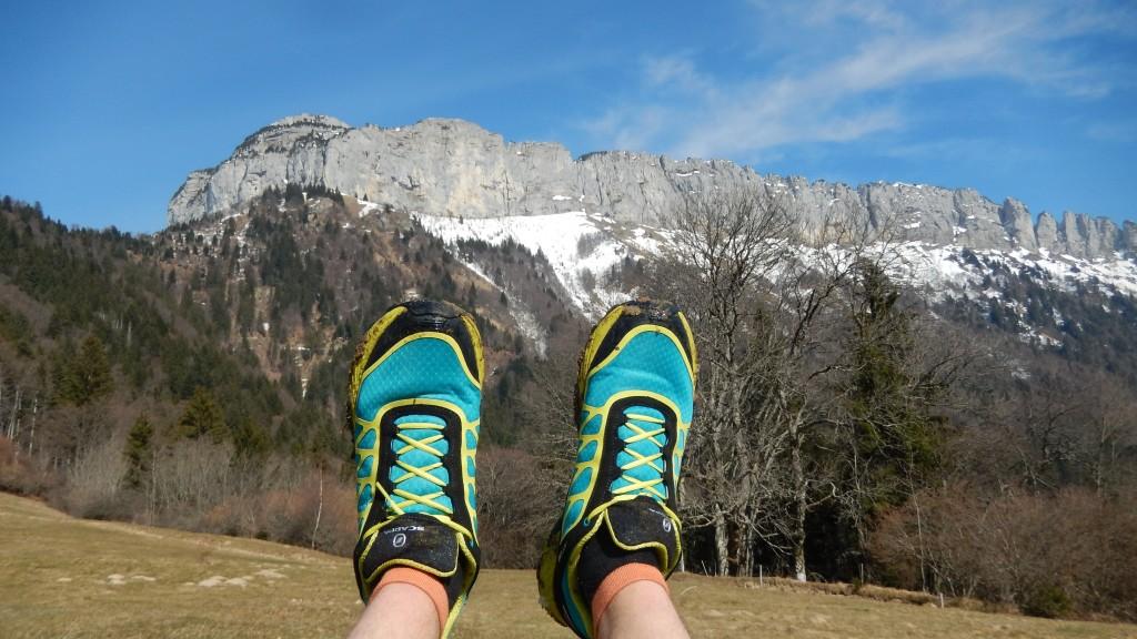 chaussure trail Scarpa Atom