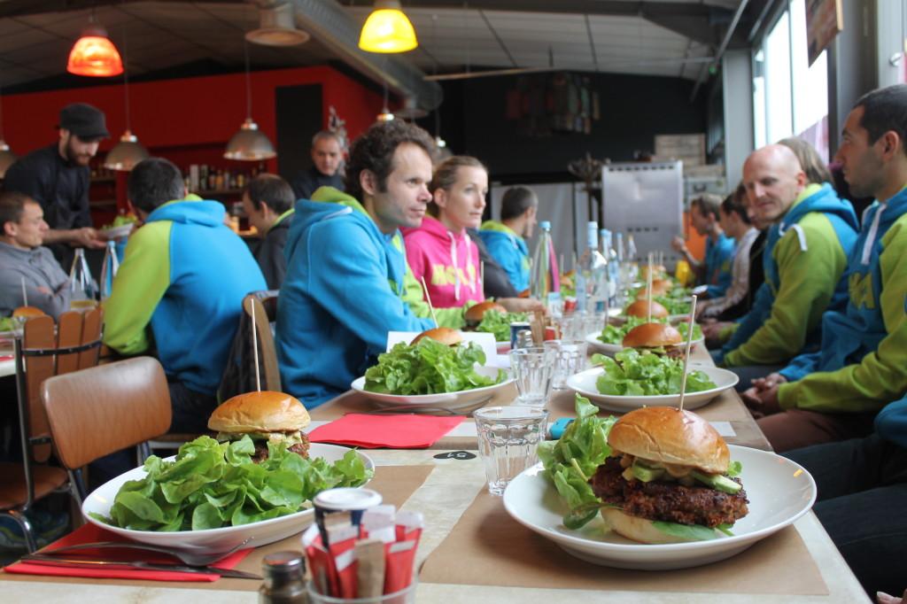 Burger un repas solide