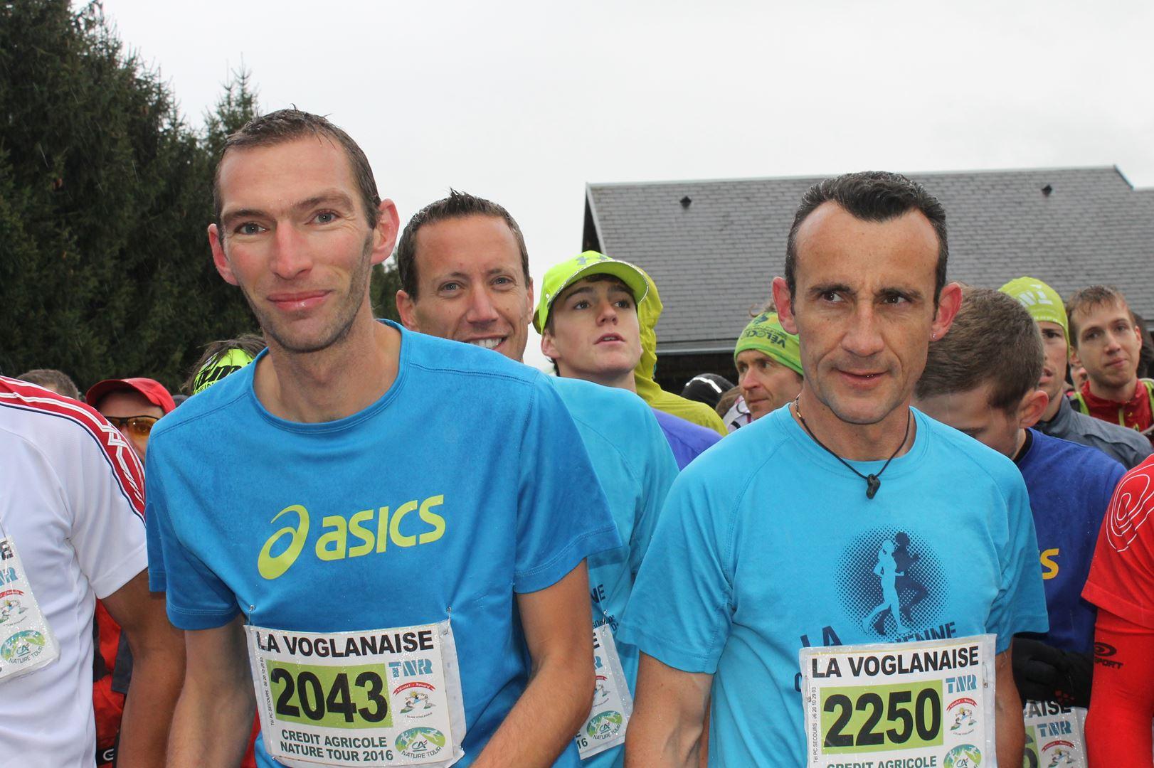 Sébastien Masbous et Nicolas Inaudi - RESULTATS, COMPTE RENDU, PHOTOS ET VIDEOS DU TRAIL NIVOLET REVARD / 01-05-16