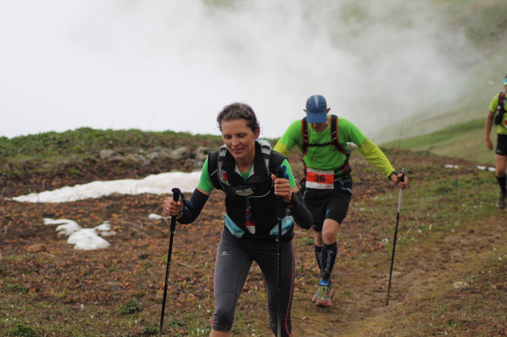 Aurélie Caucal, 3ème femme du 30km