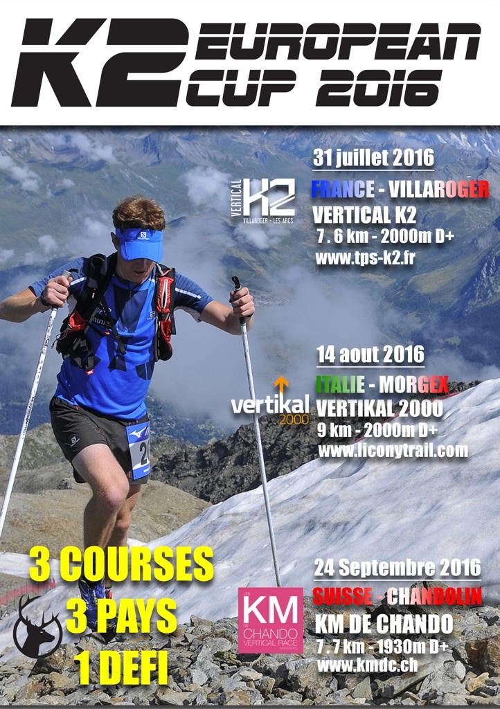 CHALLENGE12web - PRESENTATION DU K2 DE VILLAROGER - LES ARCS ET DE LA K2 EUROPEAN CUP 2016