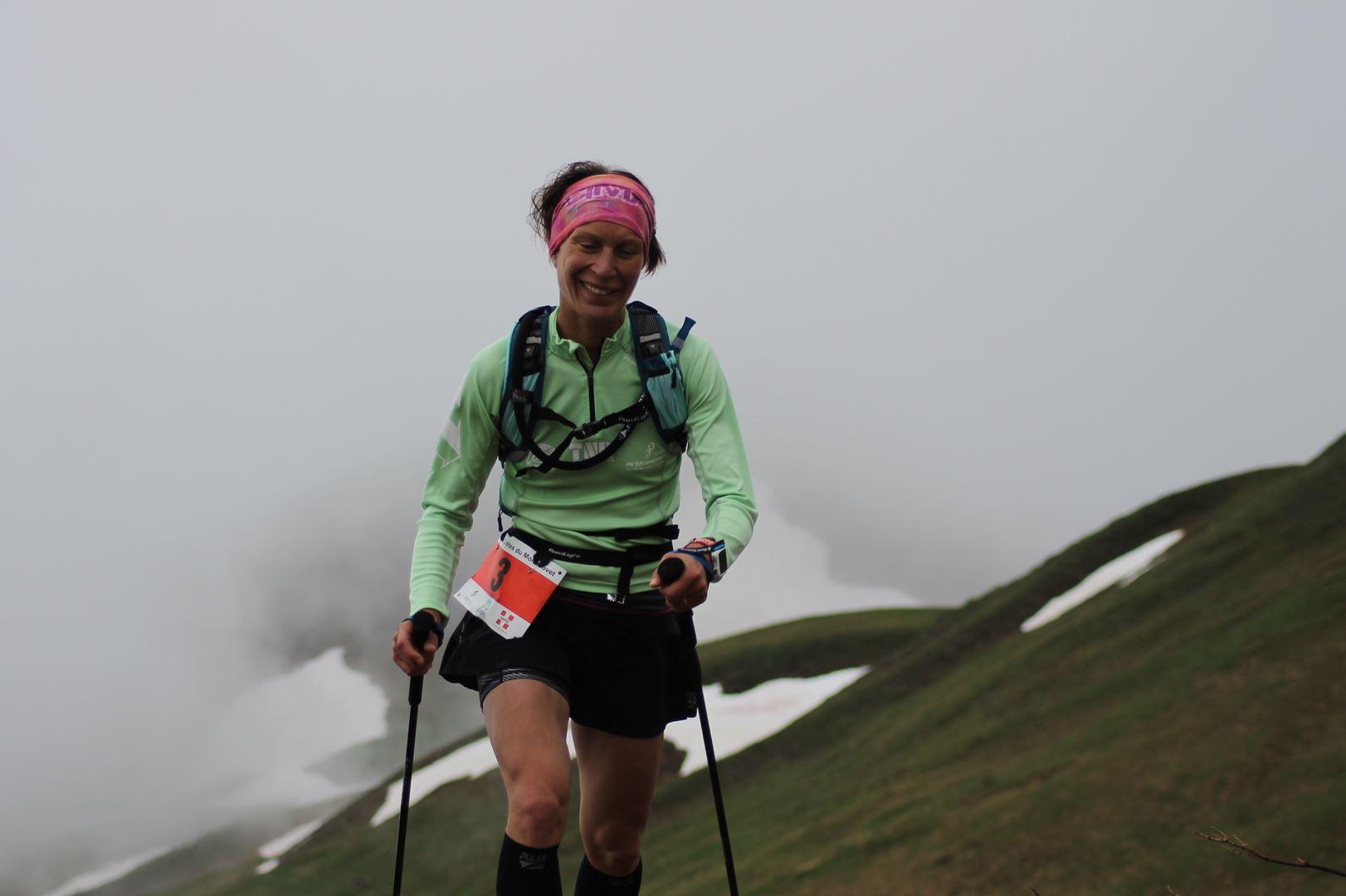 Stéphanie MANIVOZ 2ème scratch dames du 30km