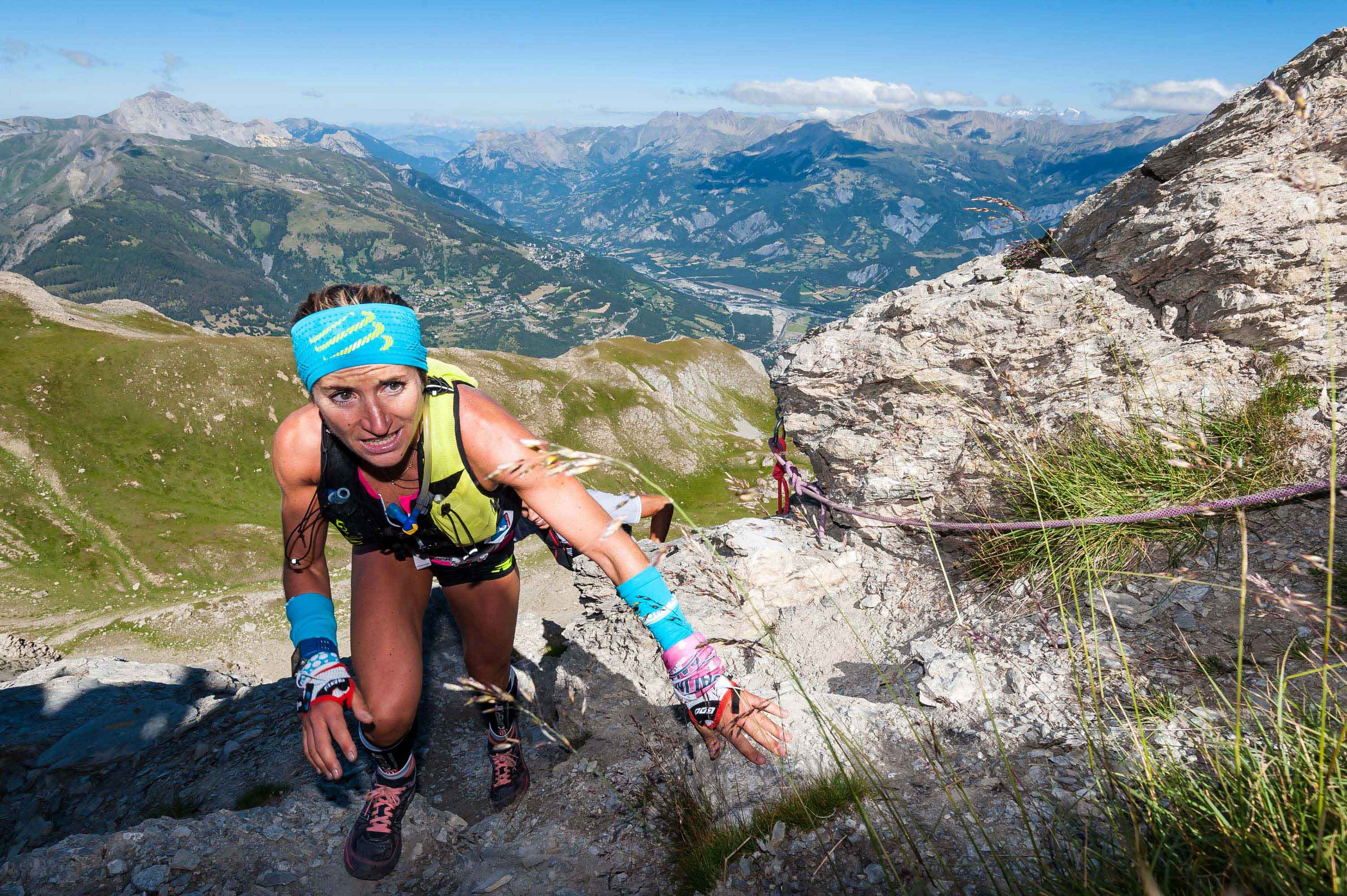 1 Amandine Ferrato 1ère 42 km photo Rémi Morel - NATIONAL : RESULTATS ET VIDEO DE L'UBAYE TRAIL SALOMON