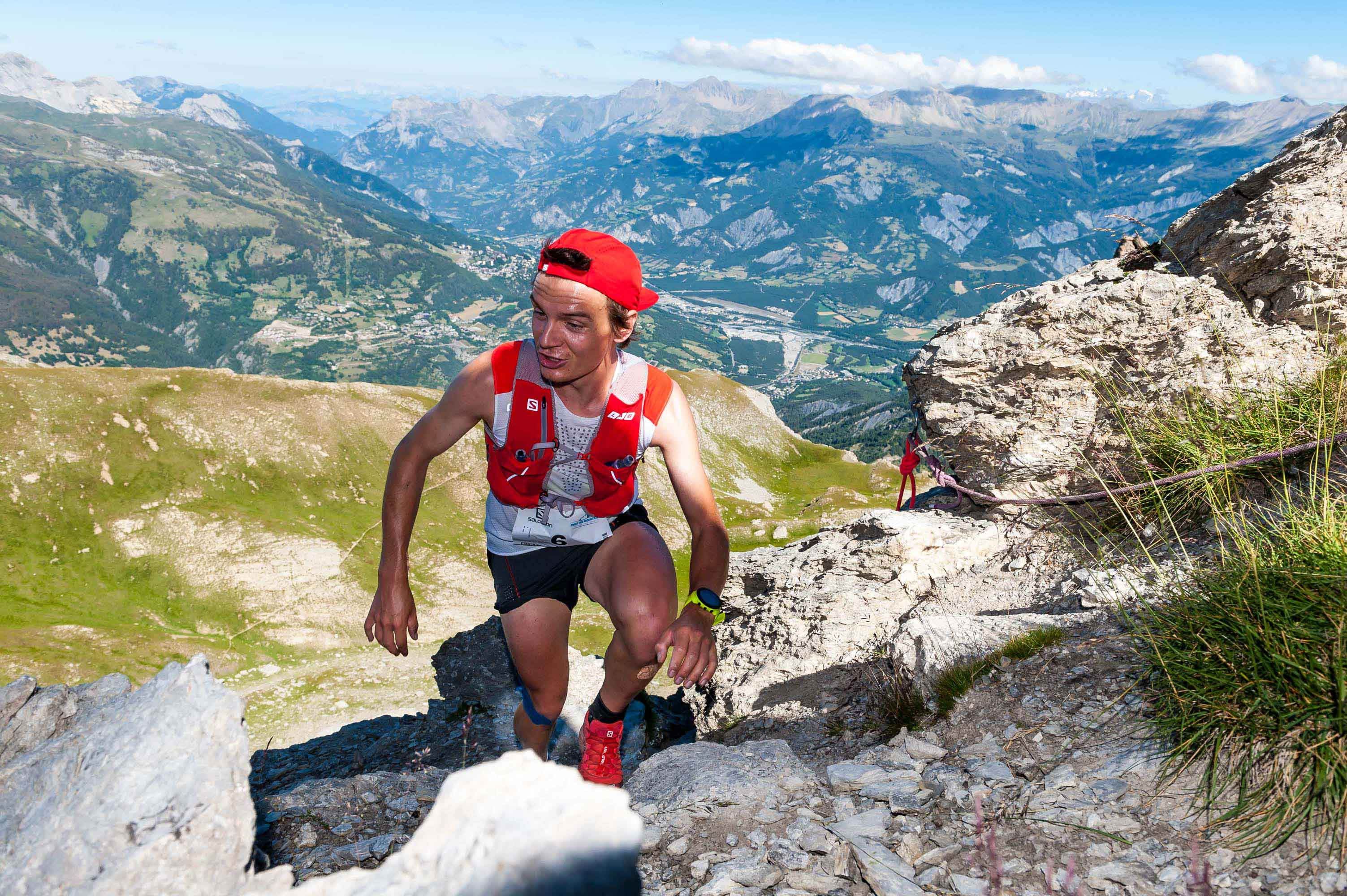 5 Gédéon Pochat 1er espoir 42 km photo Rémi Morel - NATIONAL : RESULTATS ET VIDEO DE L'UBAYE TRAIL SALOMON