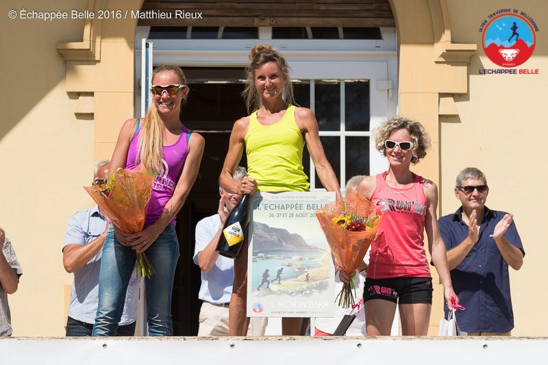 Podium85km Femme - RESULTATS DE L'ECHAPPEE BELLE 2016
