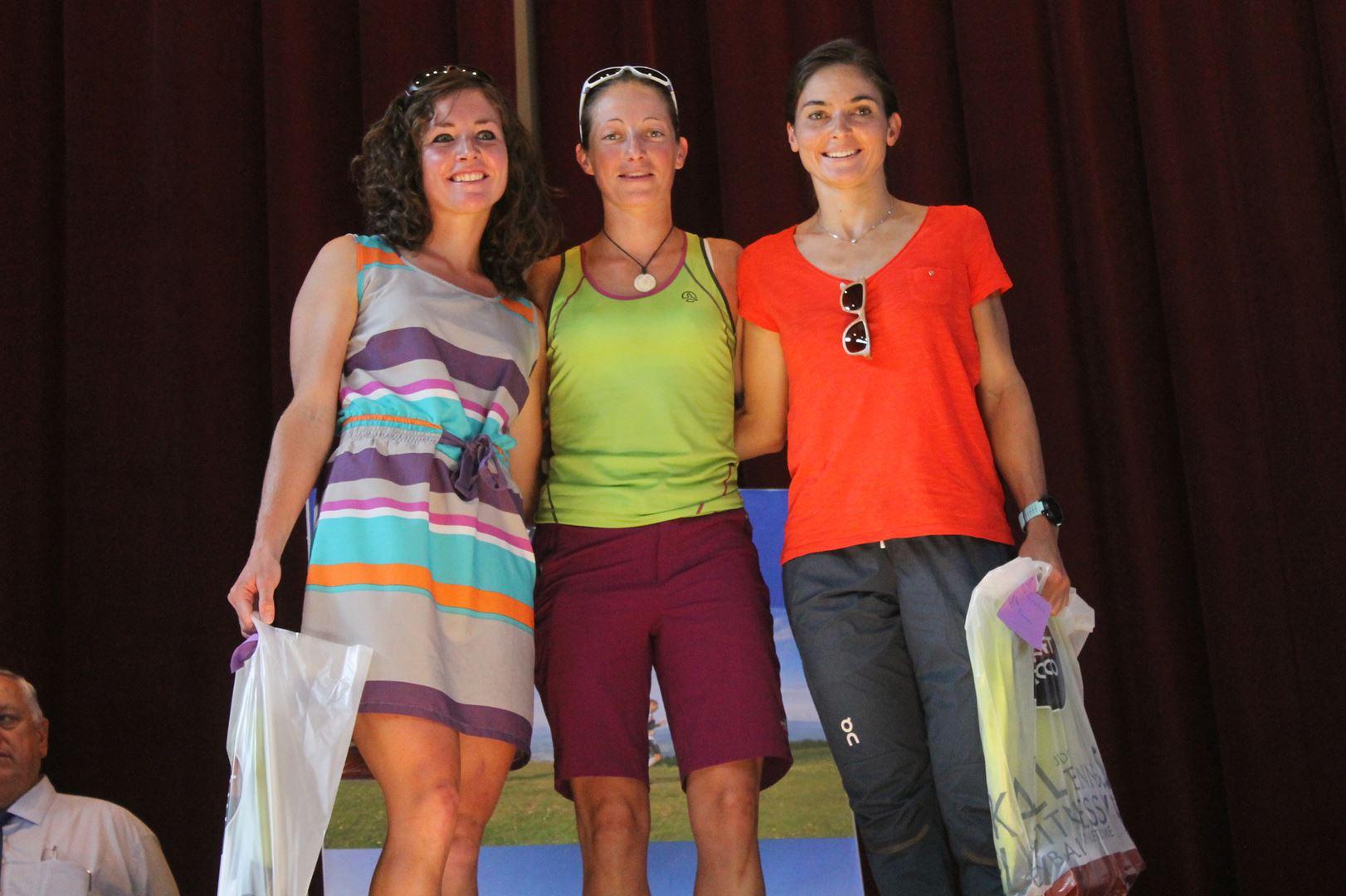 """Le podium féminin pleine de charme - RESULTATS ET COMMENTAIRES DE LA 3EME EDITION DE LA """"NIVOLET CLASSIC"""" Saint Alban de Leysse (73)"""