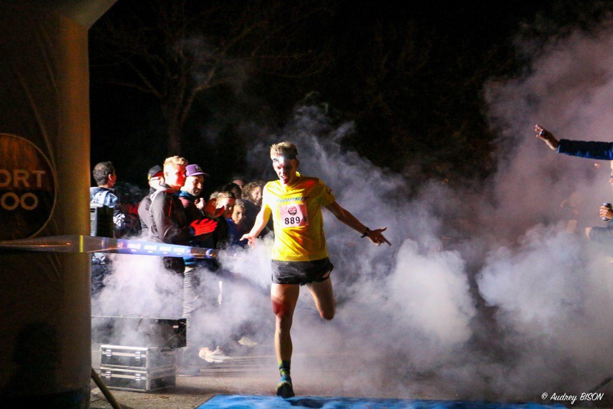 Etienne Loisel vainqueur du 10km. ©Audrey Bison - La chambérienne 2016