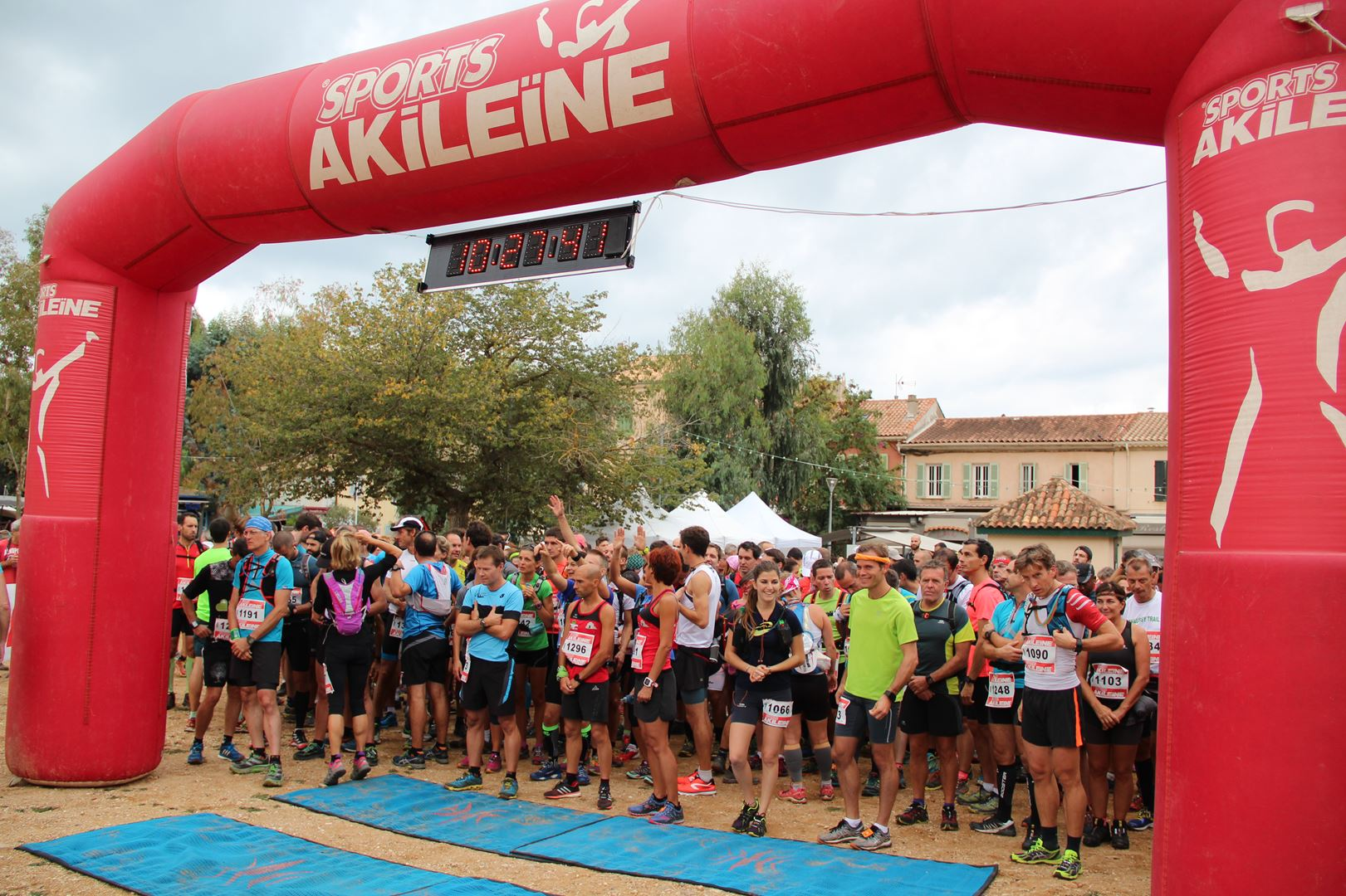 copie 0 2. D®part 12 - DECOUVERTE : LA 3EME EDITION DU TRAIL DE PORQUEROLLES (83) -01-10-2016