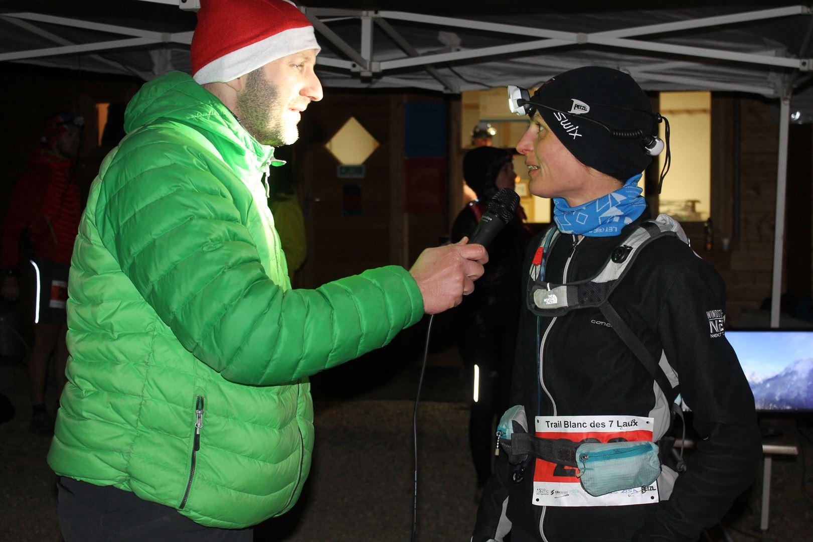 Aurélie Caucale lauréate du 16 km - Trail des 7 Laux 2016 - ©Alex Garin