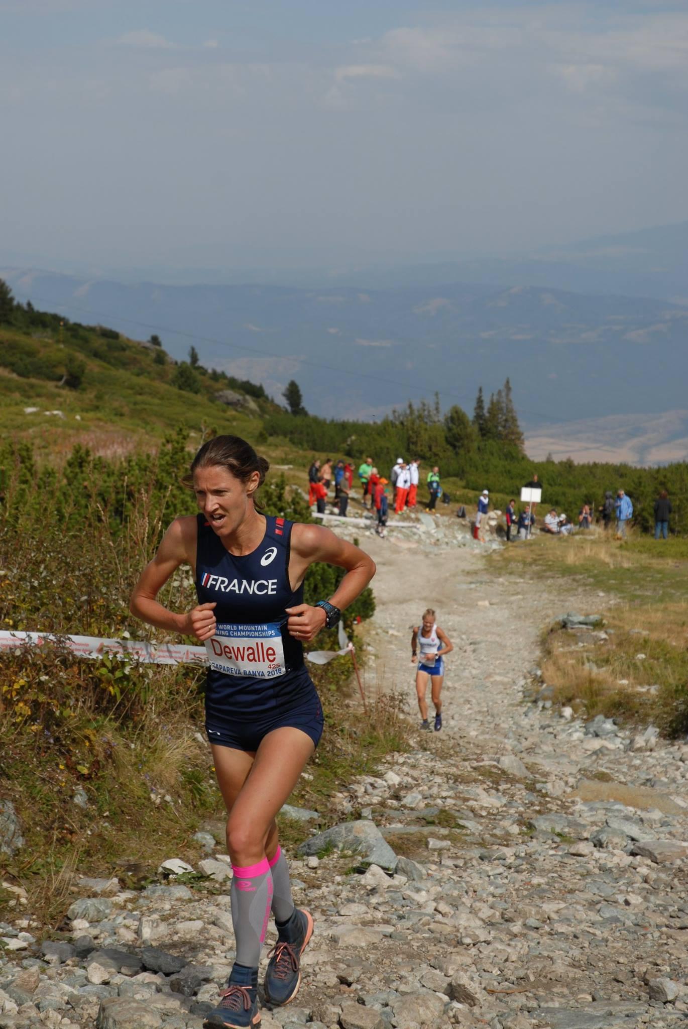 La haut-savoyarde Christel Dewalle 3ème des championnats du monde de course de montagne 2016