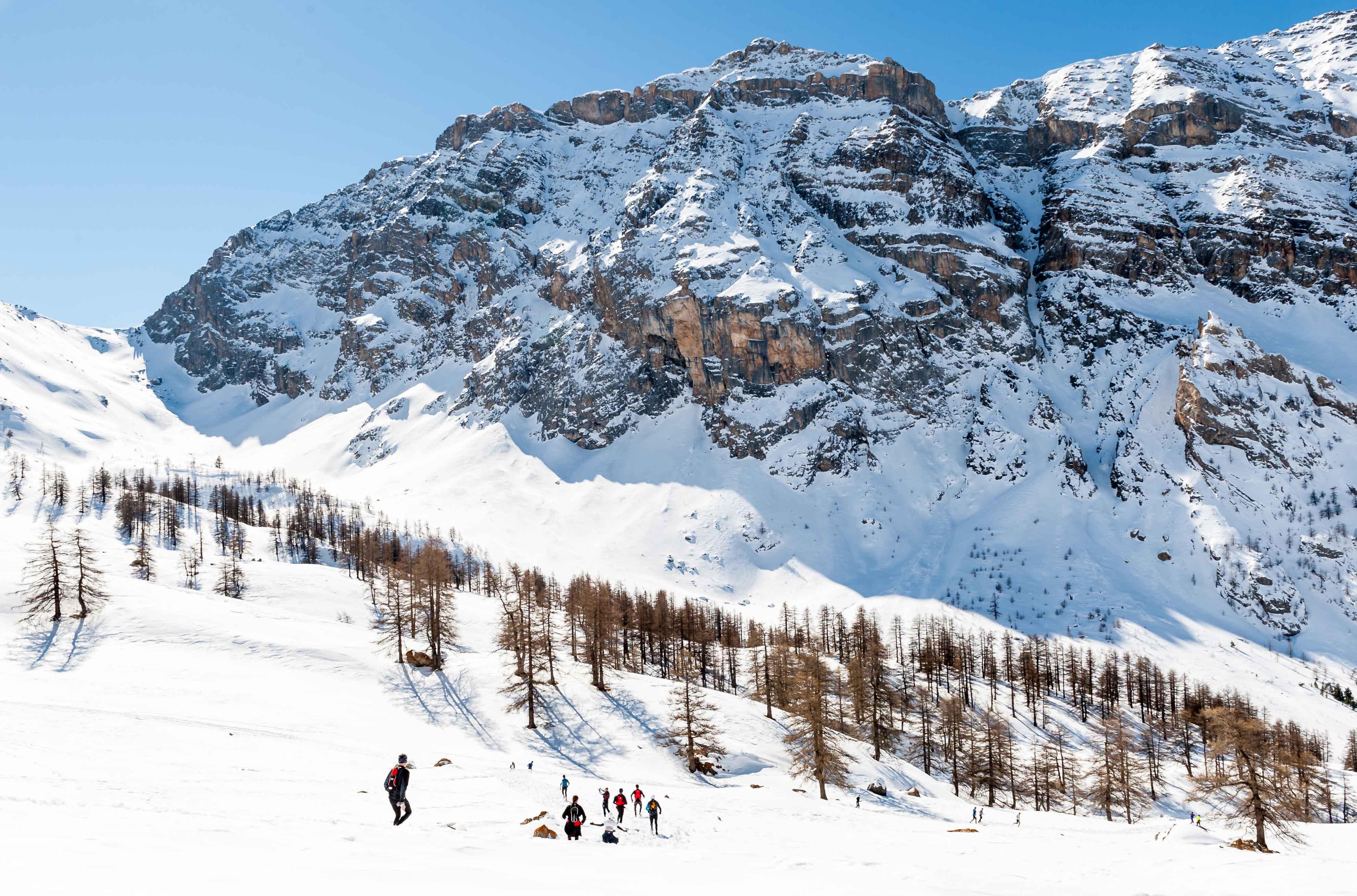 Ambiance 2017 Ubaye Trail Salomon photo Rémi Morel - UBAYE SNOW TRAIL SALOMON UNE 8EME EDITION FORT REUSSIE ! 19-02-2017 RESULTATS ET VIDEO