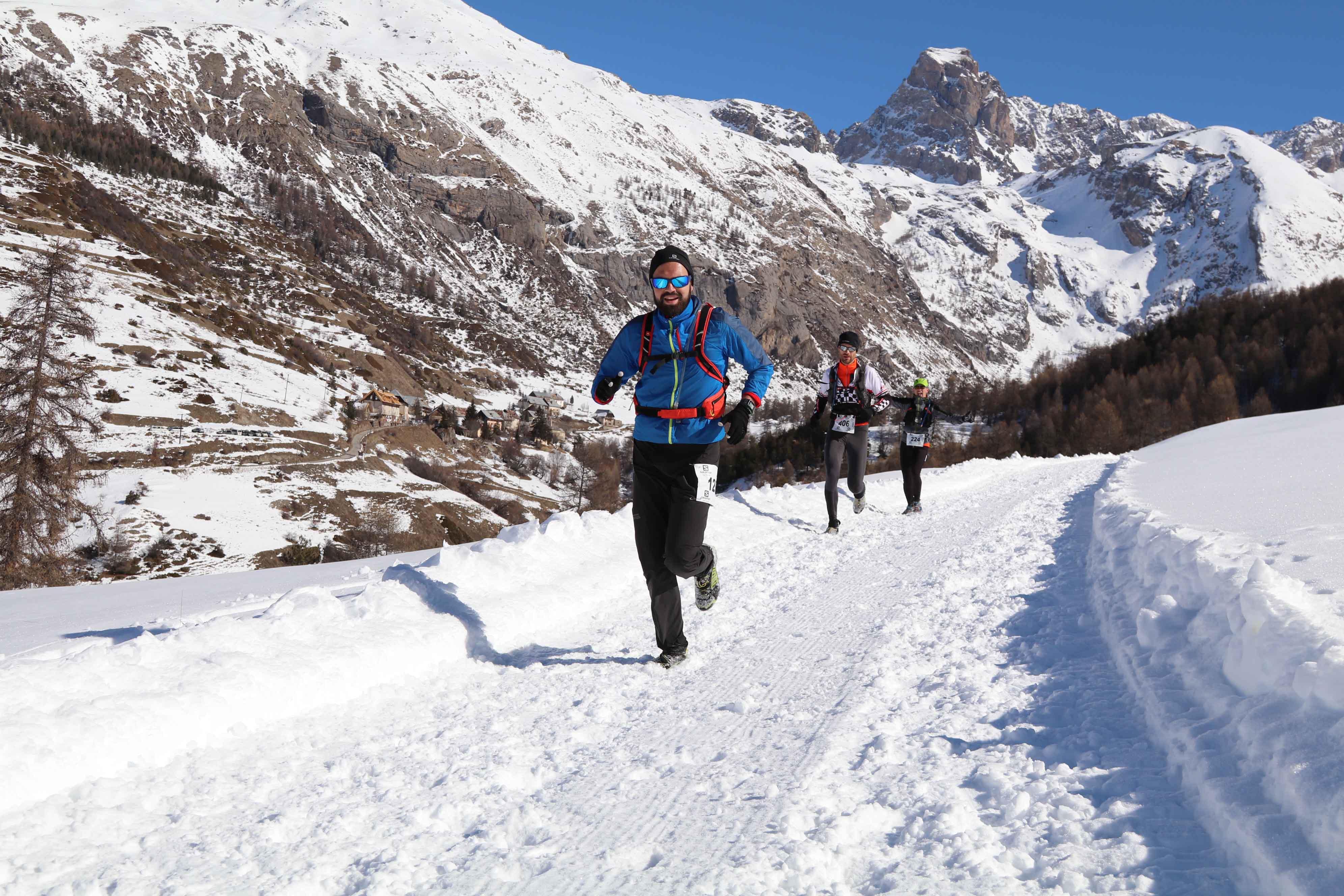 Ambiance 2017 Ubaye Trail Salomon photo Robert Goin - UBAYE SNOW TRAIL SALOMON UNE 8EME EDITION FORT REUSSIE ! 19-02-2017 RESULTATS ET VIDEO