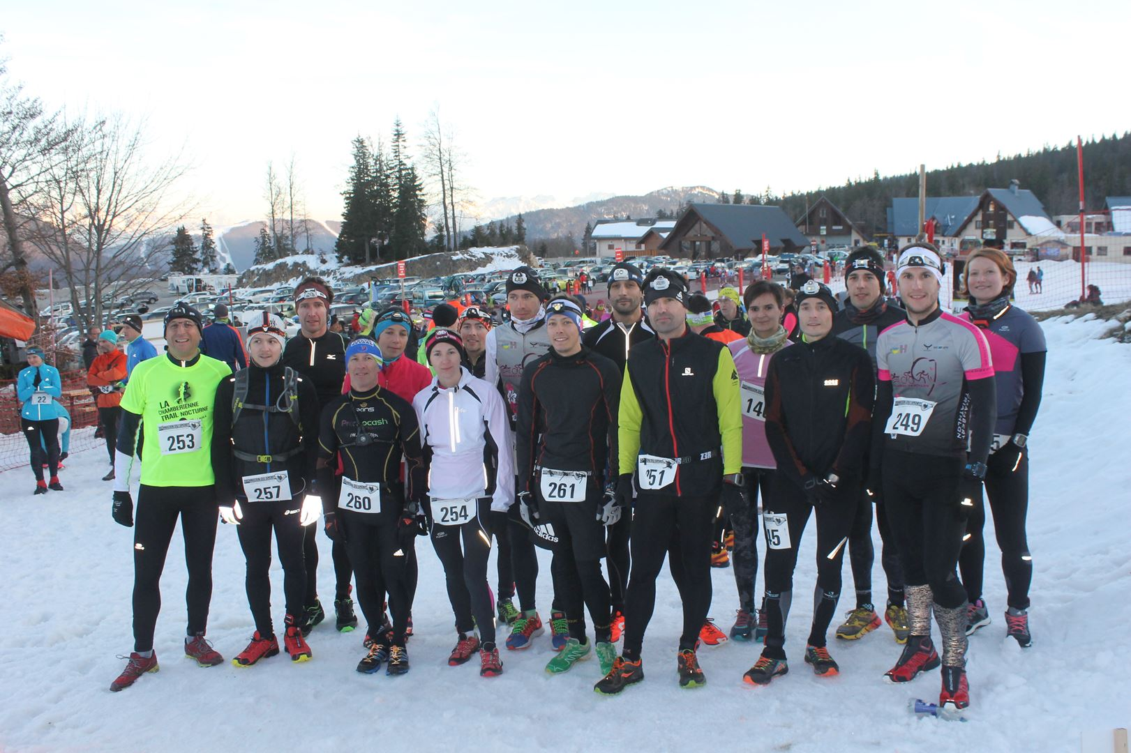 Chambéry Triathlon club le plus représenté - RÉSULTATS ET REPORTAGE DU TRAIL DE LA FÉE BLANCHE -MARGERIAZ 73-    25-02-2017