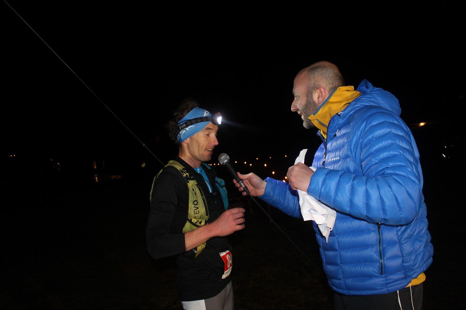 ITW de Nicolas Hairon 1er du 106km - RESULTATS ET COMMENTAIRES DU TRAIL DU SAPPEY EN CHARTREUSE (38) -18-02-2017