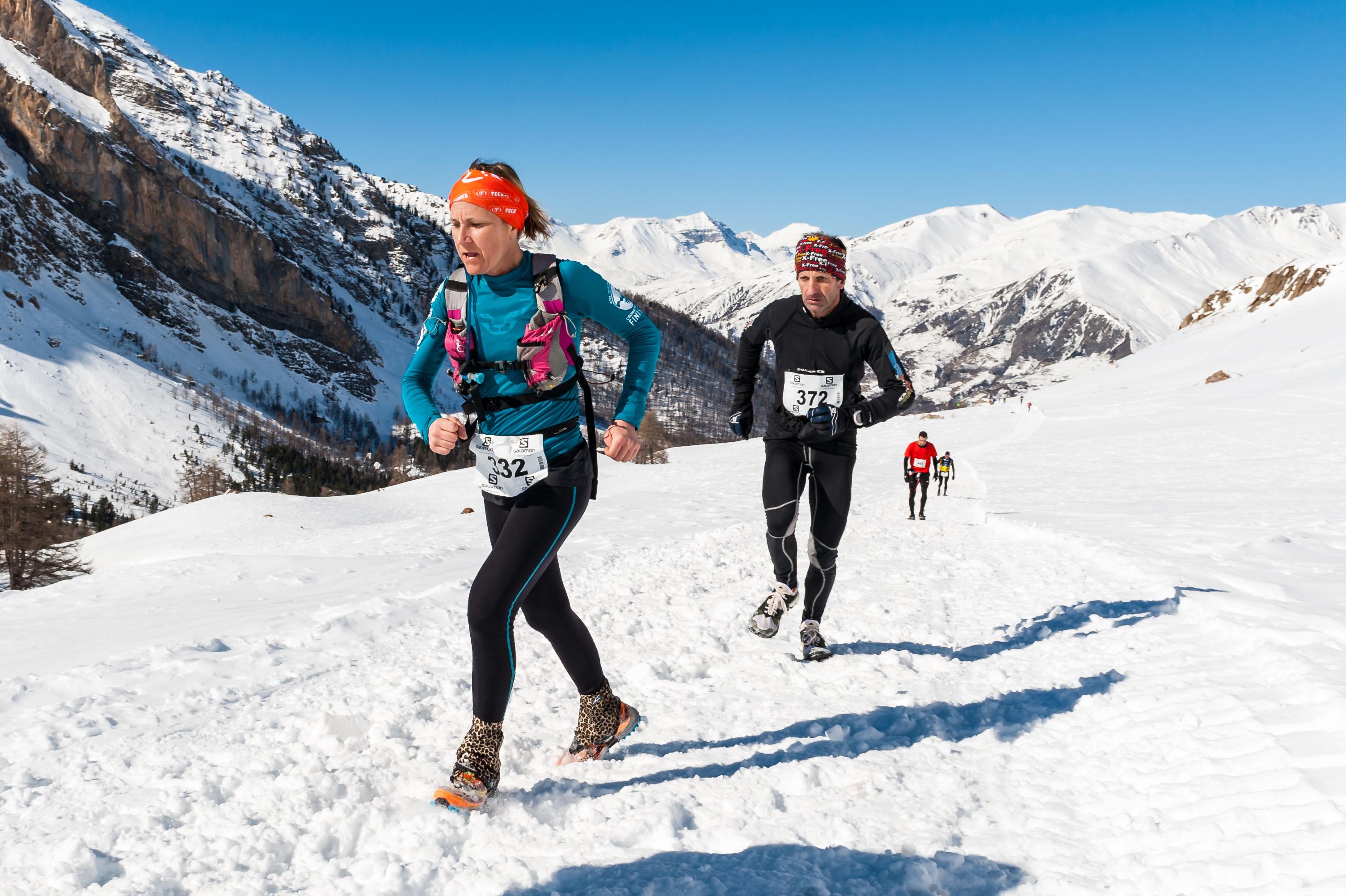 Irina Malejonock première 22 km photo Rémi Morel - UBAYE SNOW TRAIL SALOMON UNE 8EME EDITION FORT REUSSIE ! 19-02-2017 RESULTATS ET VIDEO