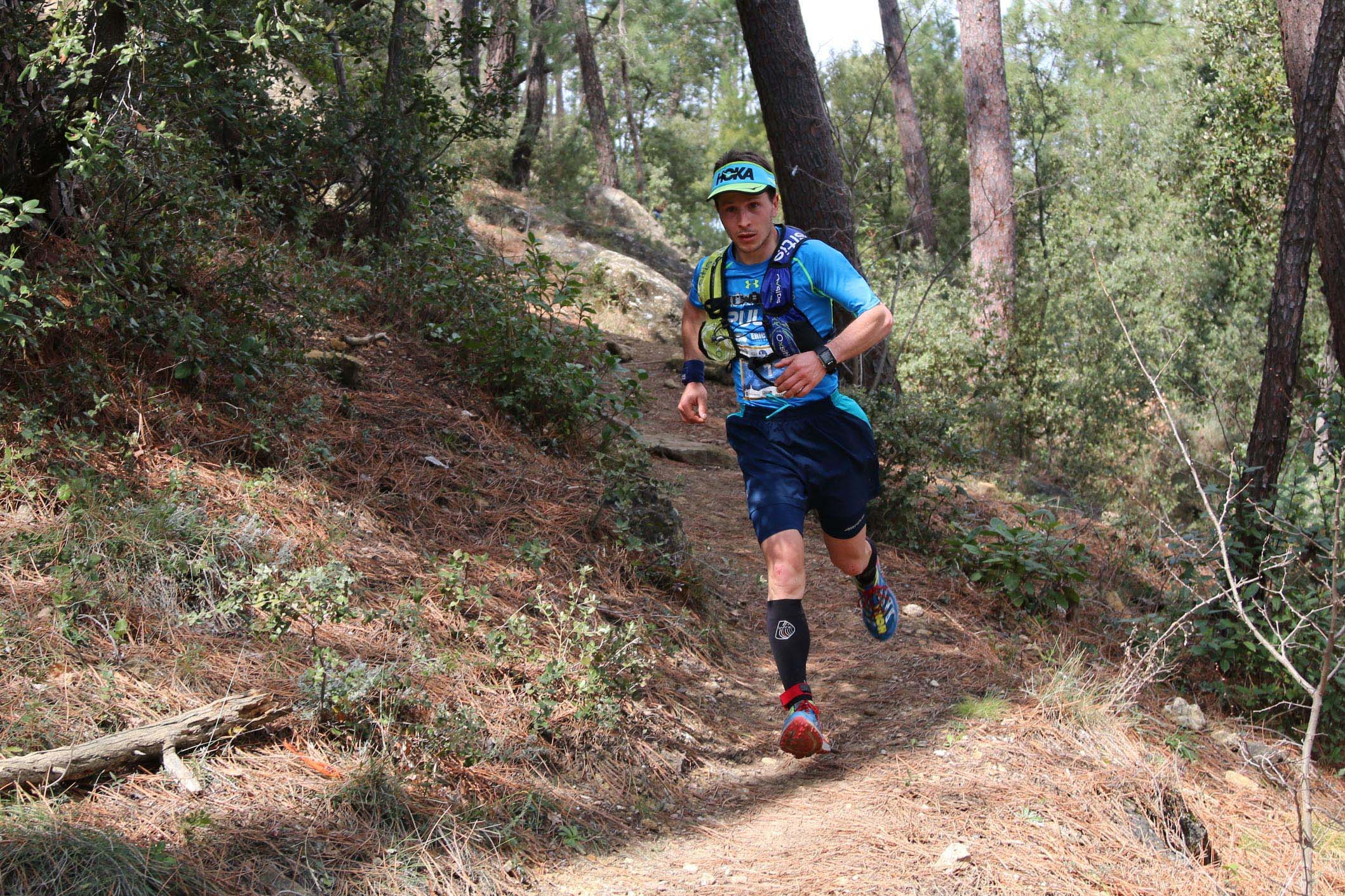 1 Nicolas Martin 46 km trail du Ventoux photo Robert Goin 1 - ERGYSPORT TRAIL DU VENTOUX 18-03-2018 : UN POINT SUR LES PRINCIPAUX FAVORIS