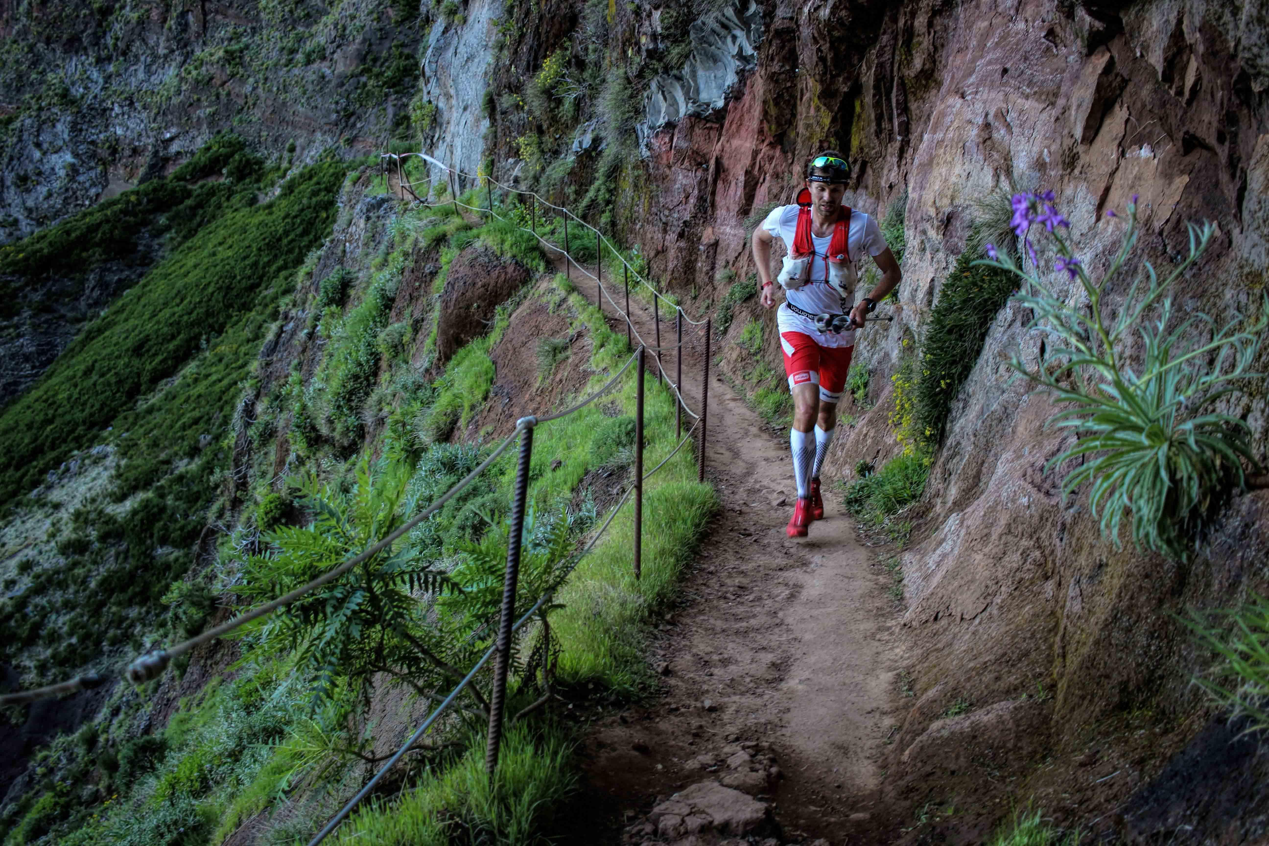 1 115 km Madeira Island Ultra trail François DHaene photo Philipp Reiter - RENTRÉE VICTORIEUSE POUR FRANCOIS D'HAENE ET MICHEL LANNE (article de Robert Goin)