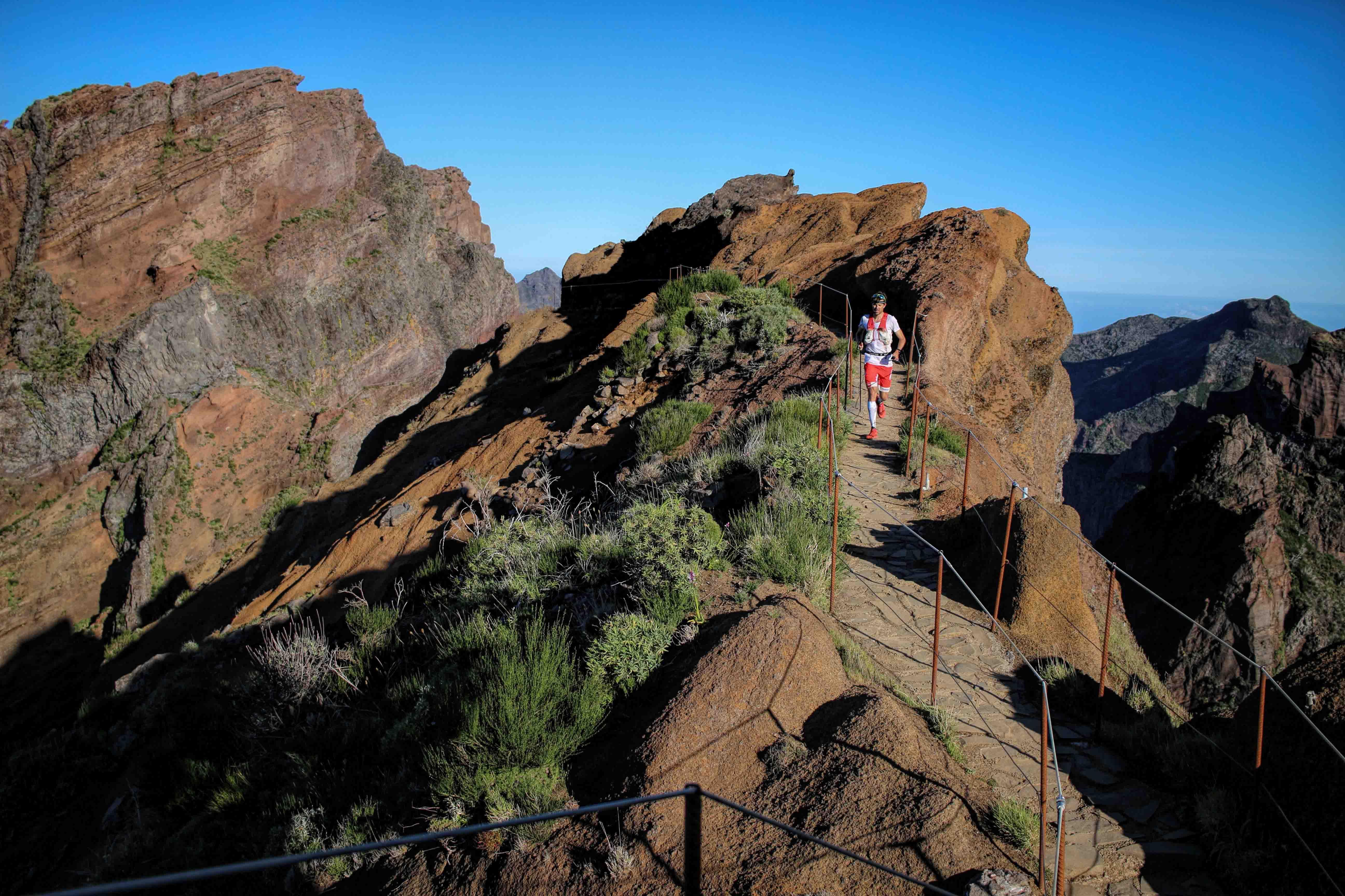 2 115 km Madeira Island Ultra trail François DHaene photo Philipp Reiter - RENTRÉE VICTORIEUSE POUR FRANCOIS D'HAENE ET MICHEL LANNE (article de Robert Goin)