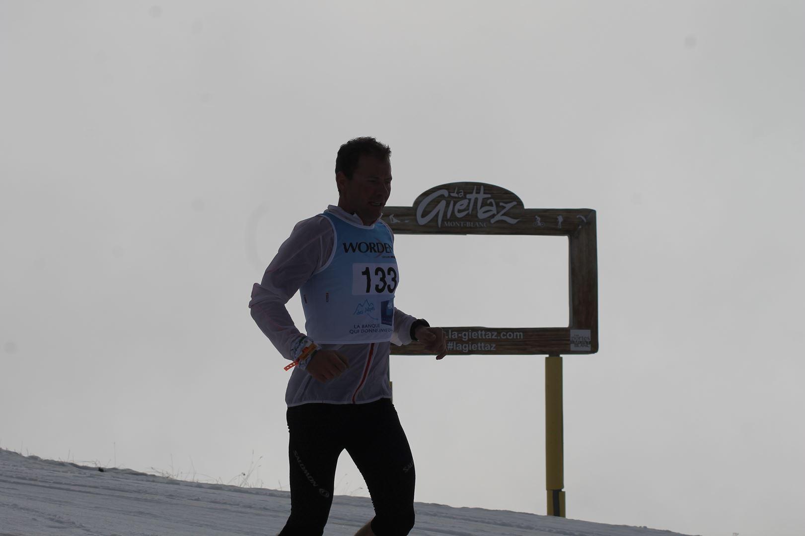Benjamin Galland 6ème du 17km - RESULTATS ET REPORTAGE SUR LA 8EME EDITION DE l'ARAVIS SNOW TRAIL  (LA GIETTAZ 73)