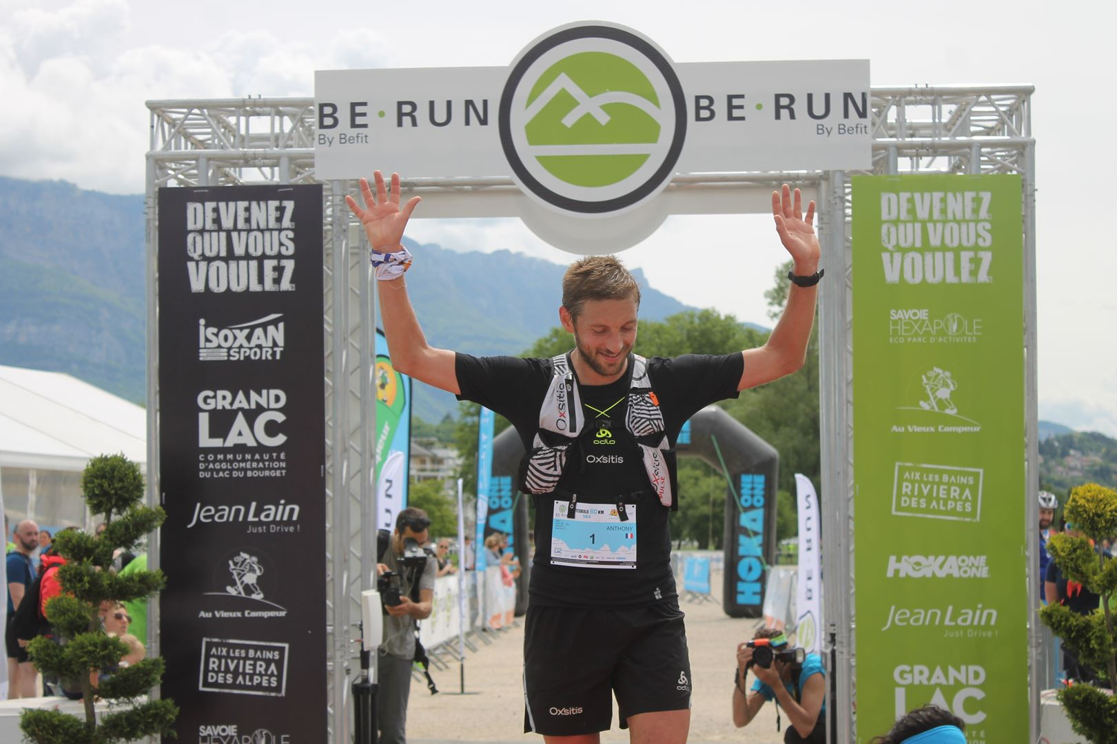 anthony gay - RESULTATS ET PHOTOS DU TRAIL BE RUN - DUINGT (74)-AIX LES BAINS (73) - 14-05-2017