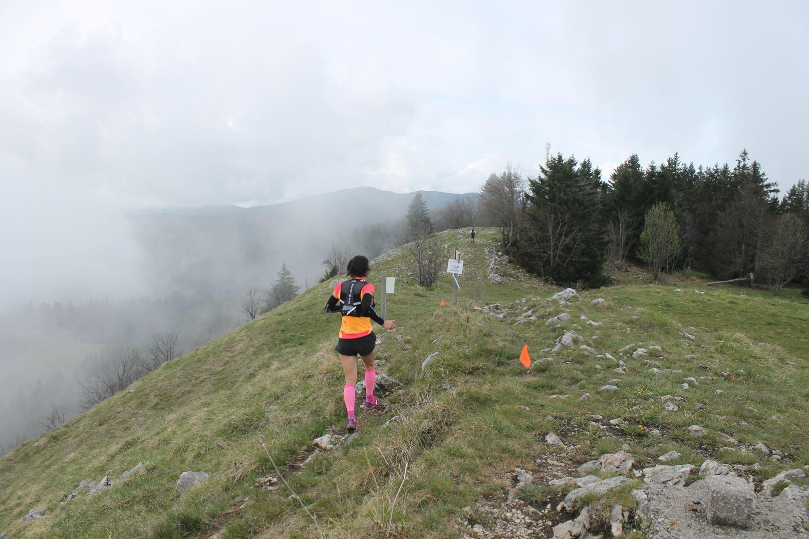 stéphanie duc 1ère du 40km de dos - RESULTATS ET PHOTOS DU TRAIL BE RUN - DUINGT (74)-AIX LES BAINS (73) - 14-05-2017