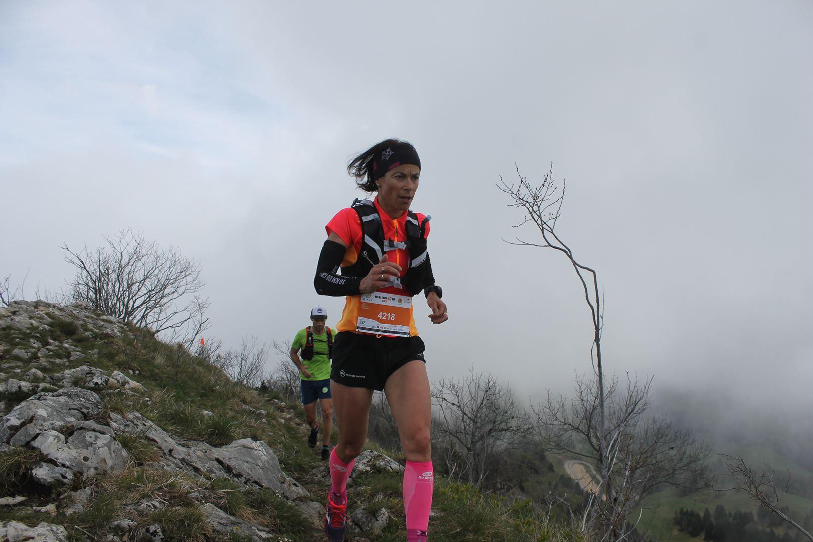 stéphanie duc 1ère du 40km - RESULTATS ET PHOTOS DU TRAIL BE RUN - DUINGT (74)-AIX LES BAINS (73) - 14-05-2017