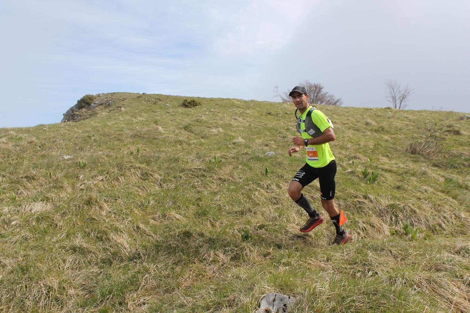 tête de course sur le 40km - RESULTATS ET PHOTOS DU TRAIL BE RUN - DUINGT (74)-AIX LES BAINS (73) - 14-05-2017