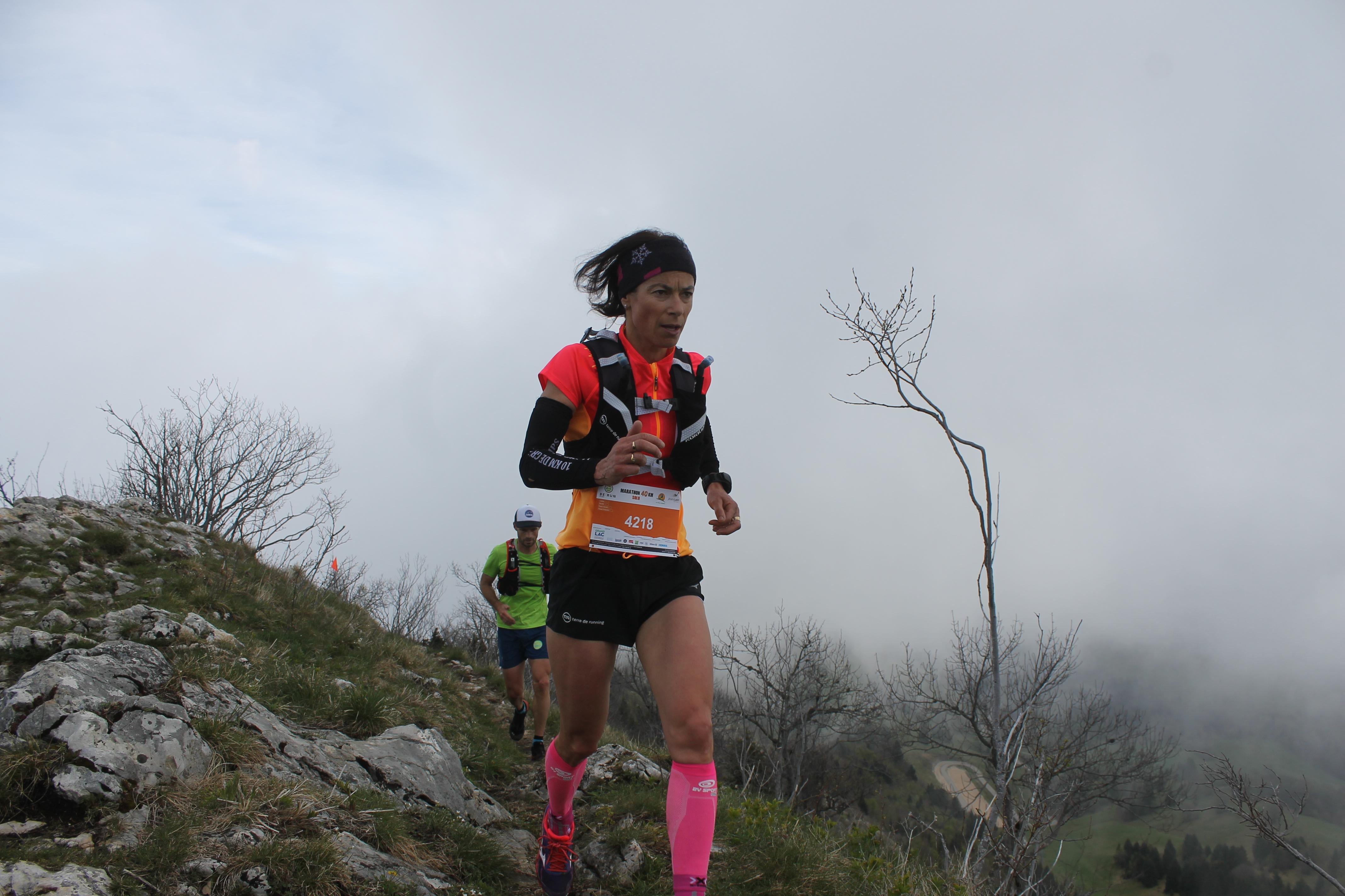 stéphanie duc 1ère du 40km - PORTRAIT DE STEPHANIE DUC (VE02000 LA PLAGNE/TEAM TERRE DE RUNNING)