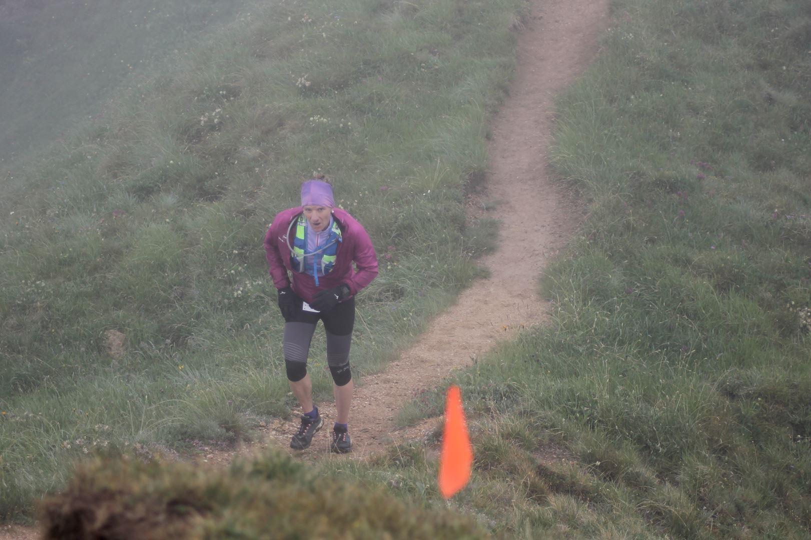 Séverine Bovero 2ème femme du 30km - TGV 2017 : RESULTATS ET REPORTAGE  01/02-07-2017