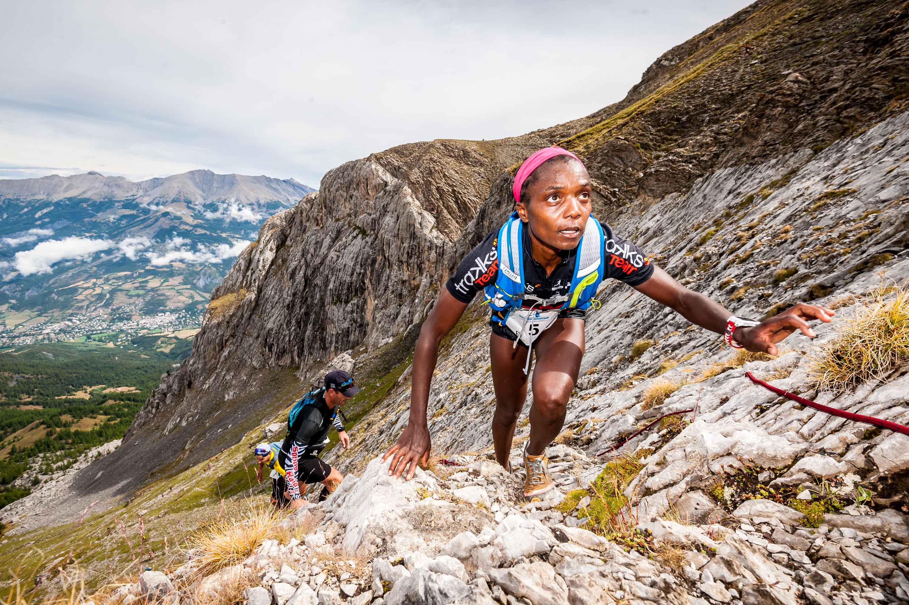 3 Juliet Champion 1ère Challenge Salomon photo Rémi Morel - Juliet Champion, Mathieu Martinez et Romain Wyndaele, vainqueurs du Salomon Over the Mountain Running Challenge 2017