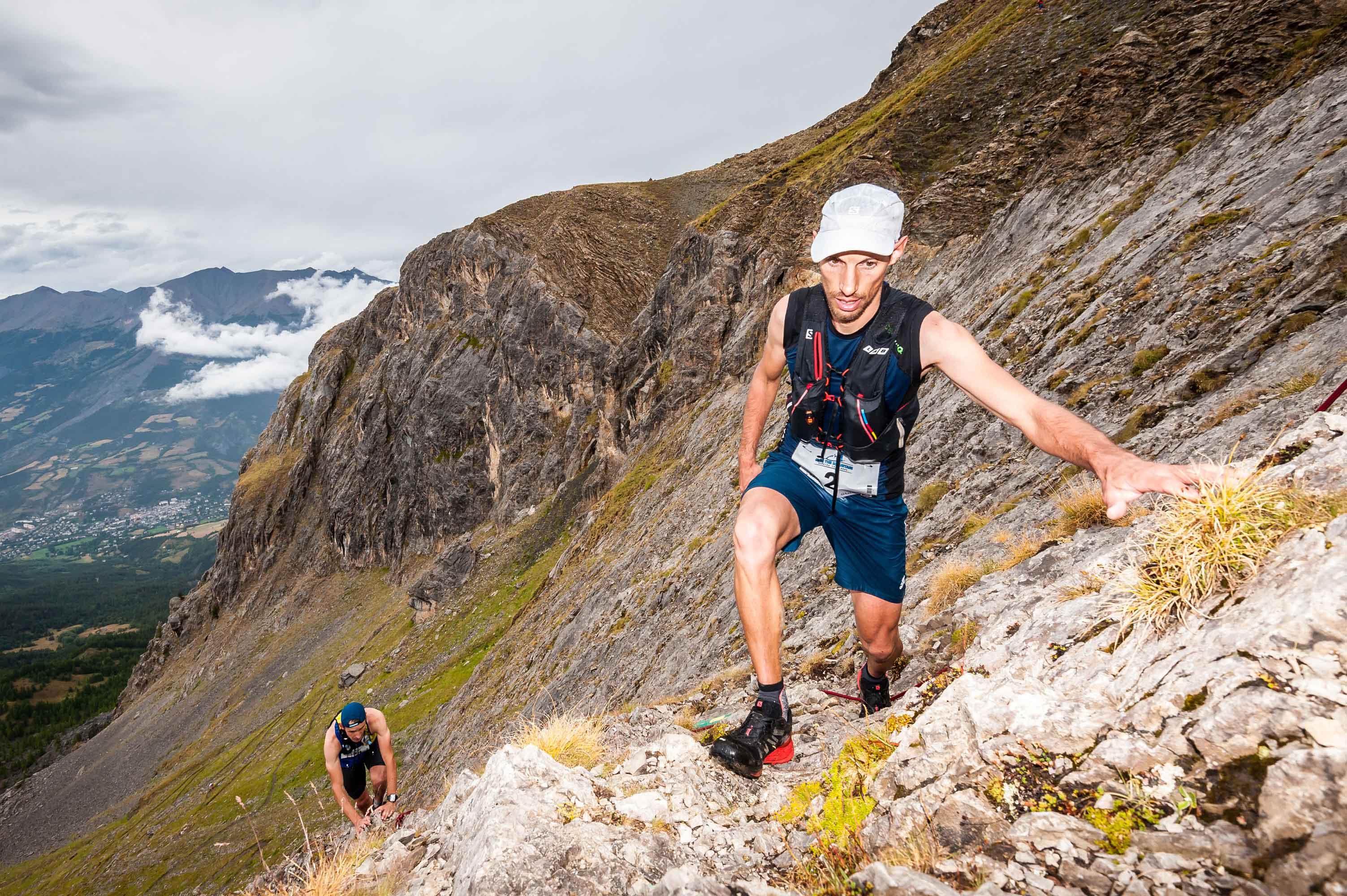 5 Mathieu MARTINEZ 1er Challenge Salomon photo Rémi Morel - Juliet Champion, Mathieu Martinez et Romain Wyndaele, vainqueurs du Salomon Over the Mountain Running Challenge 2017