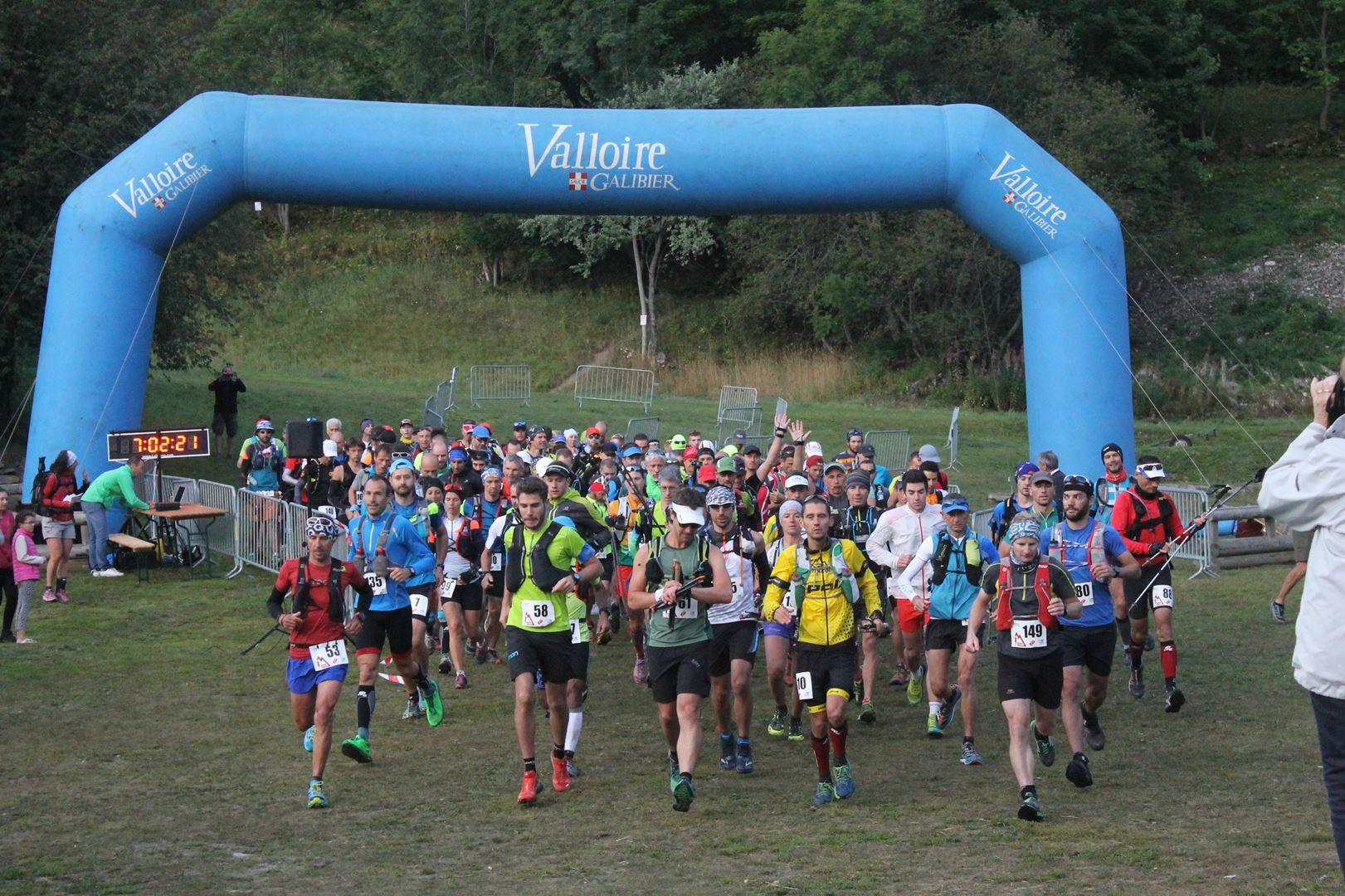 Départ du trail du galibier à 7h du matin - RESULTATS DU 9EME TRAIL DU GALIBIER (VALLOIRE 73) 20-08-2017