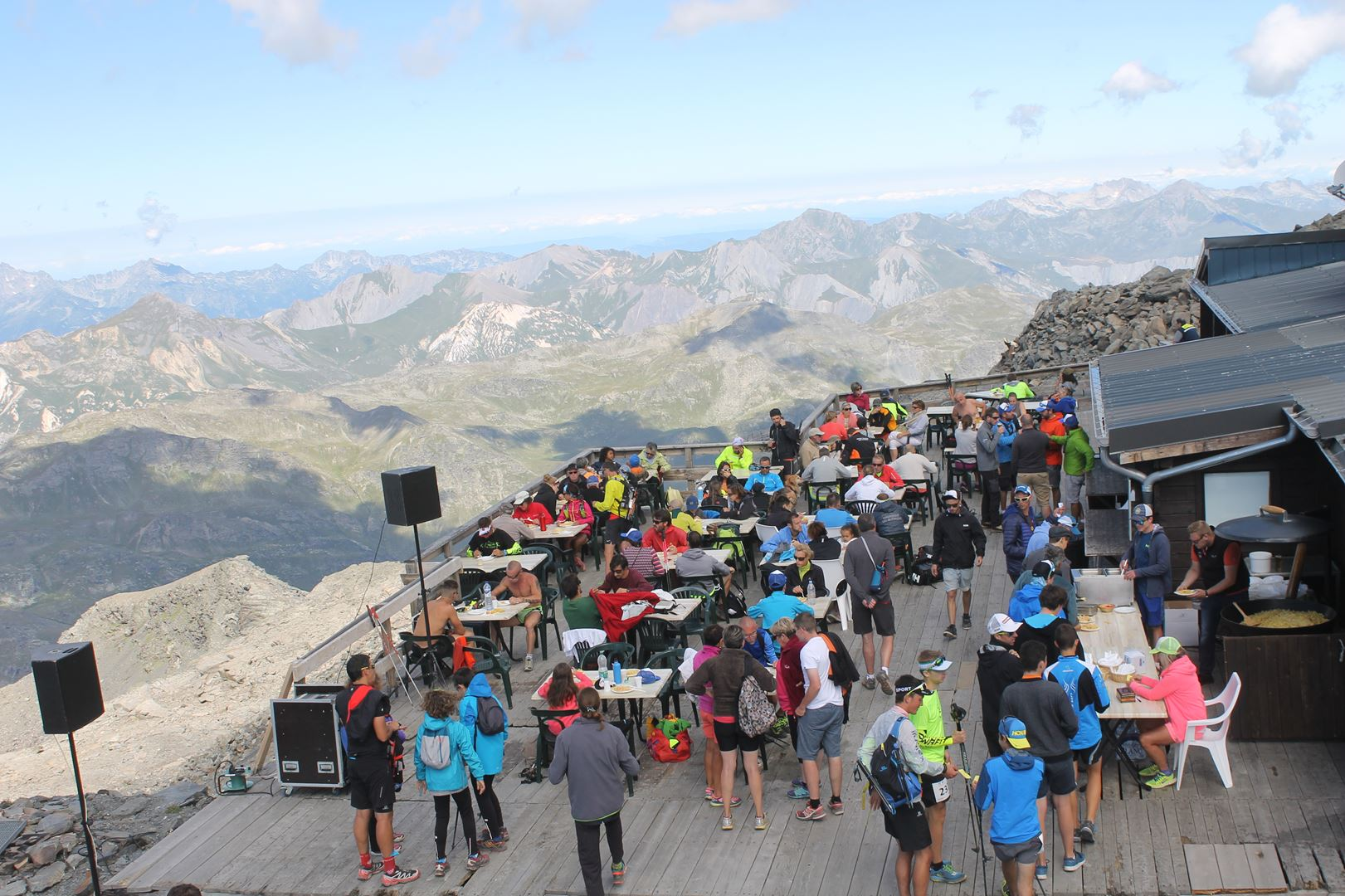 "copie 0 Pasta Party au sommet de la Cime Carron - RESULTATS DE LA 2EME EDITION DES ""VT SUMMIT GAMES"" A VAL THORENS – VT SPEED 3200"
