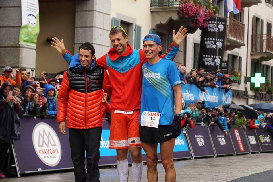 """arrivee podium utmb 2017 - UTMB 2017: UN """"FABULEUX COMBAT D'HOMMES"""""""