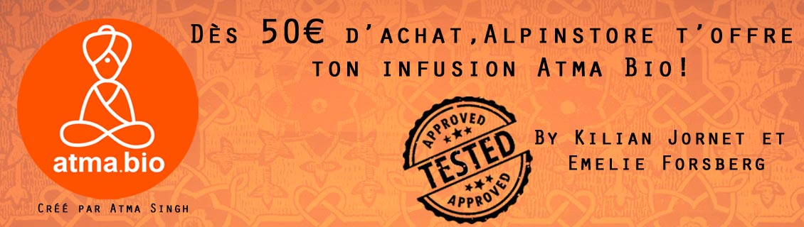 alpinstore infusions - INFUSIONS ATMA BIO OFFERTES DES 50€ D'ACHAT CHEZ ALPINSTORE