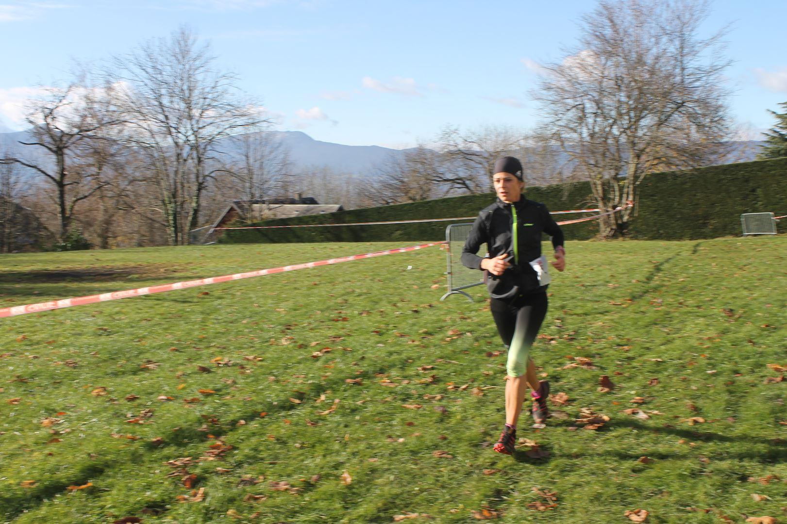 virginie challamel 2ème femme du 23km - RESULTATS ET COMPTE RENDU DE LA SANGERUN 26-11-2017 SAINT JEAN D'ARVEY (73)