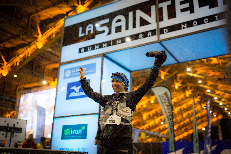2 Caroline Chaverot SaintéLyon 2017 Photo Gilles Reboisson Extra Sports - CAROLINE CHAVEROT CLAP DE FIN DE SAISON GAGNANT SUR LE 72 KM DE LA SAINTELYON !