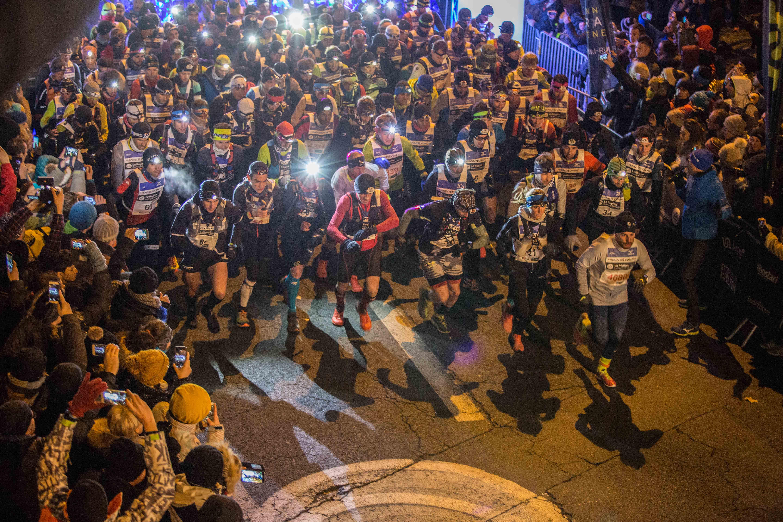 4 Ambiance SaintéLyon 2017 Photo Gilles Reboisson Extra Sports - CAROLINE CHAVEROT CLAP DE FIN DE SAISON GAGNANT SUR LE 72 KM DE LA SAINTELYON !