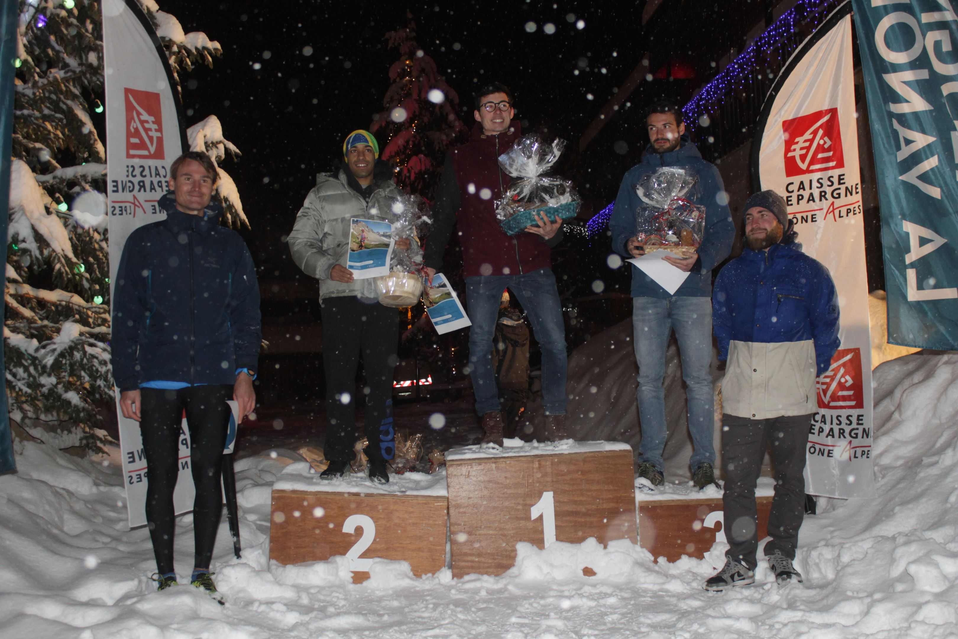 copie 0 podium hommes du 7km - RESULTATS ET COMMENTAIRES DU TRAIL DE L'INUIT (PRALOGNAN-LA-VANOISE 73) 20/01/2018