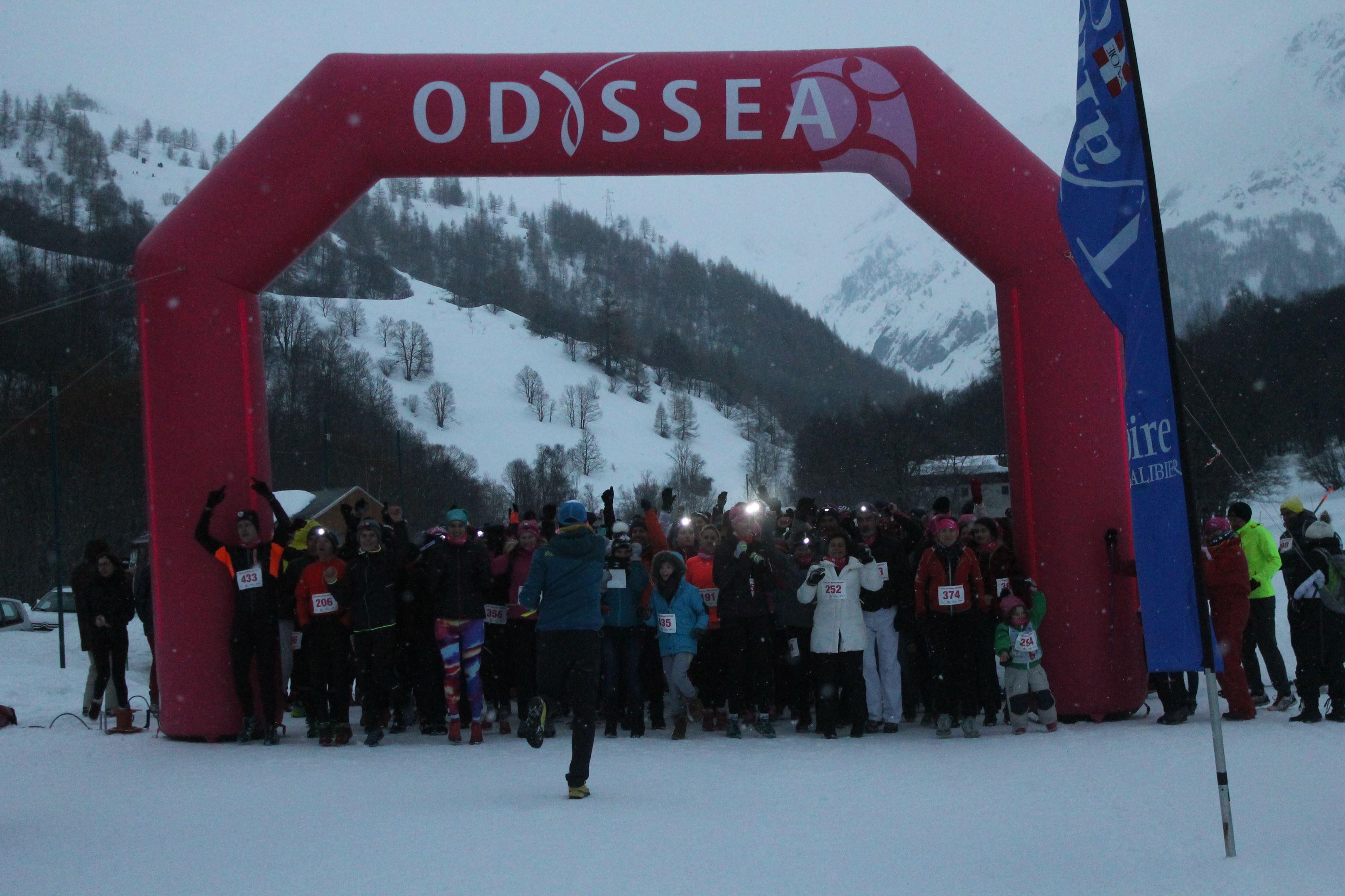 odyssea départ 5km odyssea - RESULTATS ET PHOTOS D'ODYSSEA VALLOIRE 20-02-2018
