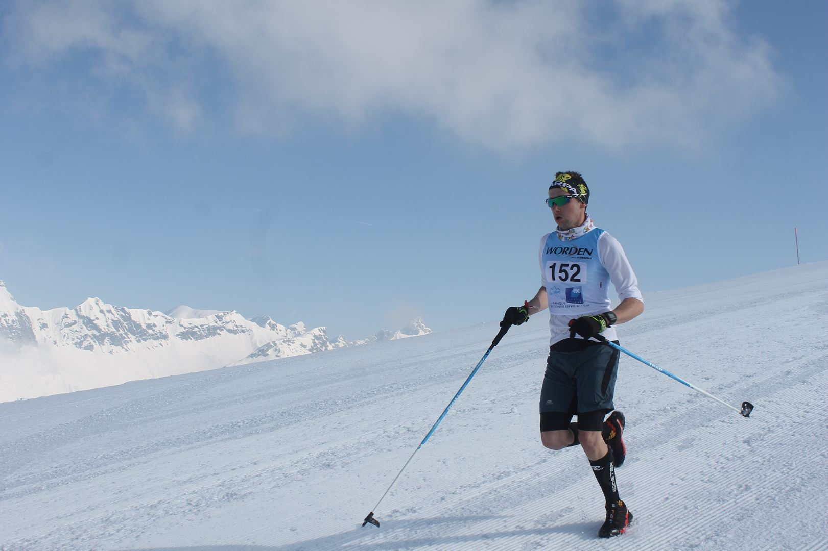 Adrien Crousaz 6° Homme du 17km 1 - RESULTATS PHOTOS ET COMPTE RENDU DU 9EME ARAVIS SNOW TRAIL (La Giettaz73) 25-03-2018