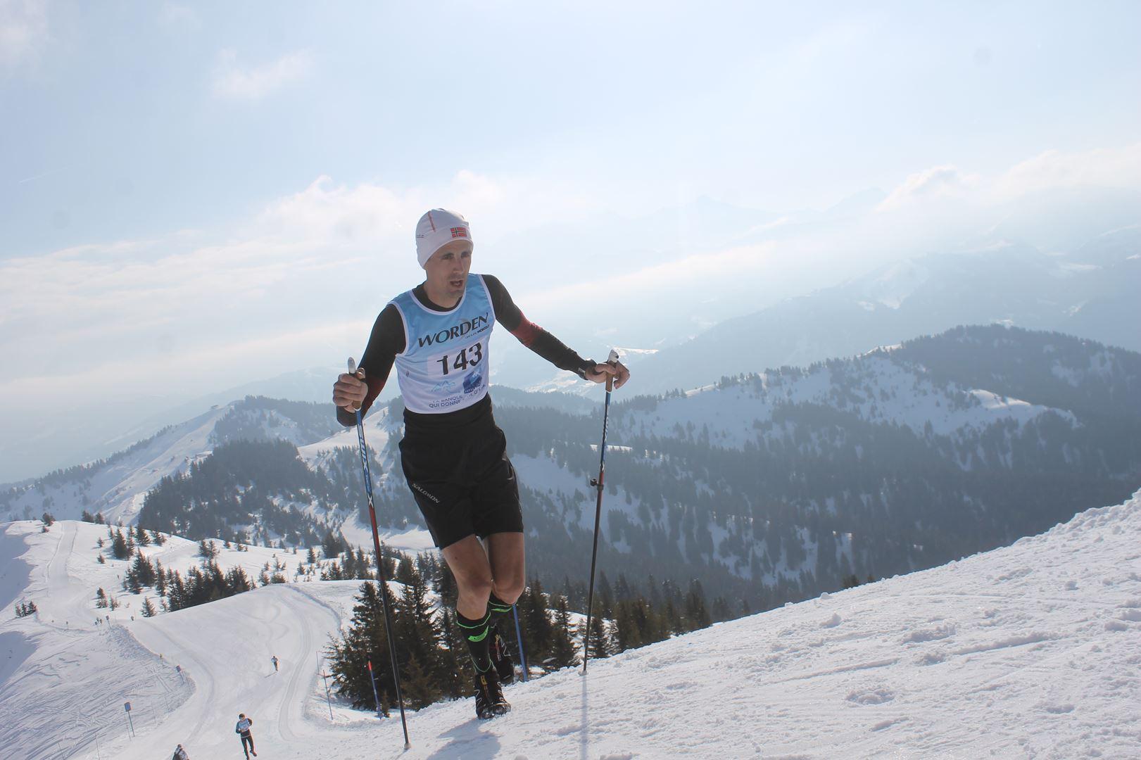 Alexandre Pelliccier 1° Homme du 17km 1 - RESULTATS PHOTOS ET COMPTE RENDU DU 9EME ARAVIS SNOW TRAIL (La Giettaz73) 25-03-2018