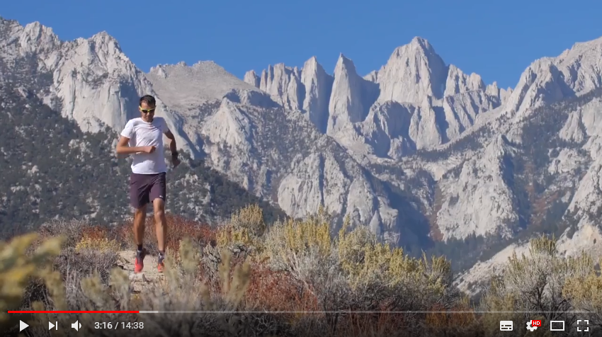 Capture - FRANÇOIS D'HAENE : RETOUR EN VIDEO SUR SON RECORD SUR LE JOHN MUIR TRAIL 359KM