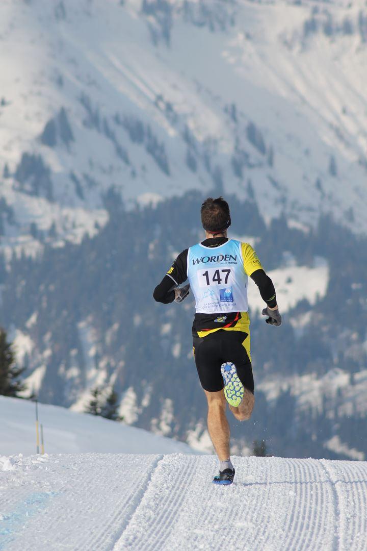 Edouard Laudier 2° homme du 17km de dos à la Torra - RESULTATS PHOTOS ET COMPTE RENDU DU 9EME ARAVIS SNOW TRAIL (La Giettaz73) 25-03-2018